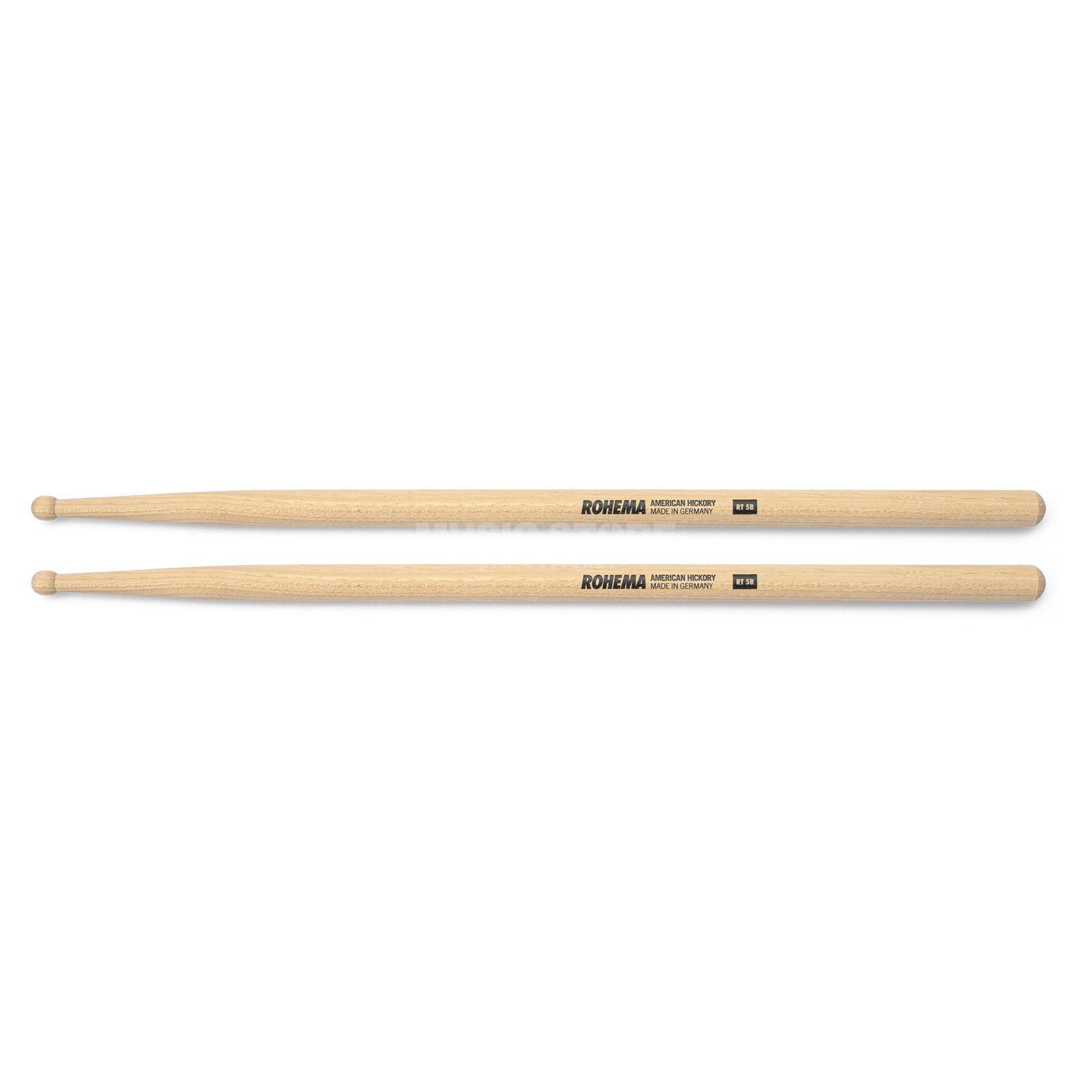 Rohema Round Tip Sticks RT 5B, Wood Tip Produktbild