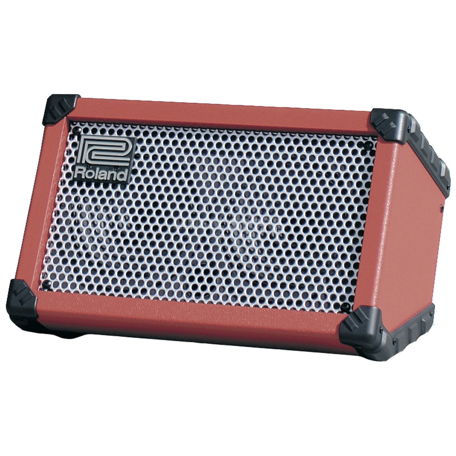 Roland Cube Street Battery Powered Bu sker's Amplifier, Red   Produktbillede