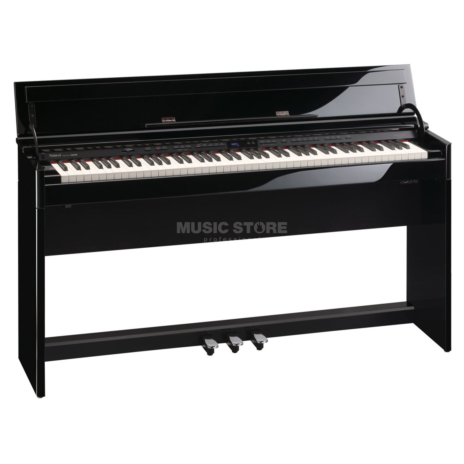 Roland DP 90Se PE Digital Piano Polished Ebony Produktbillede