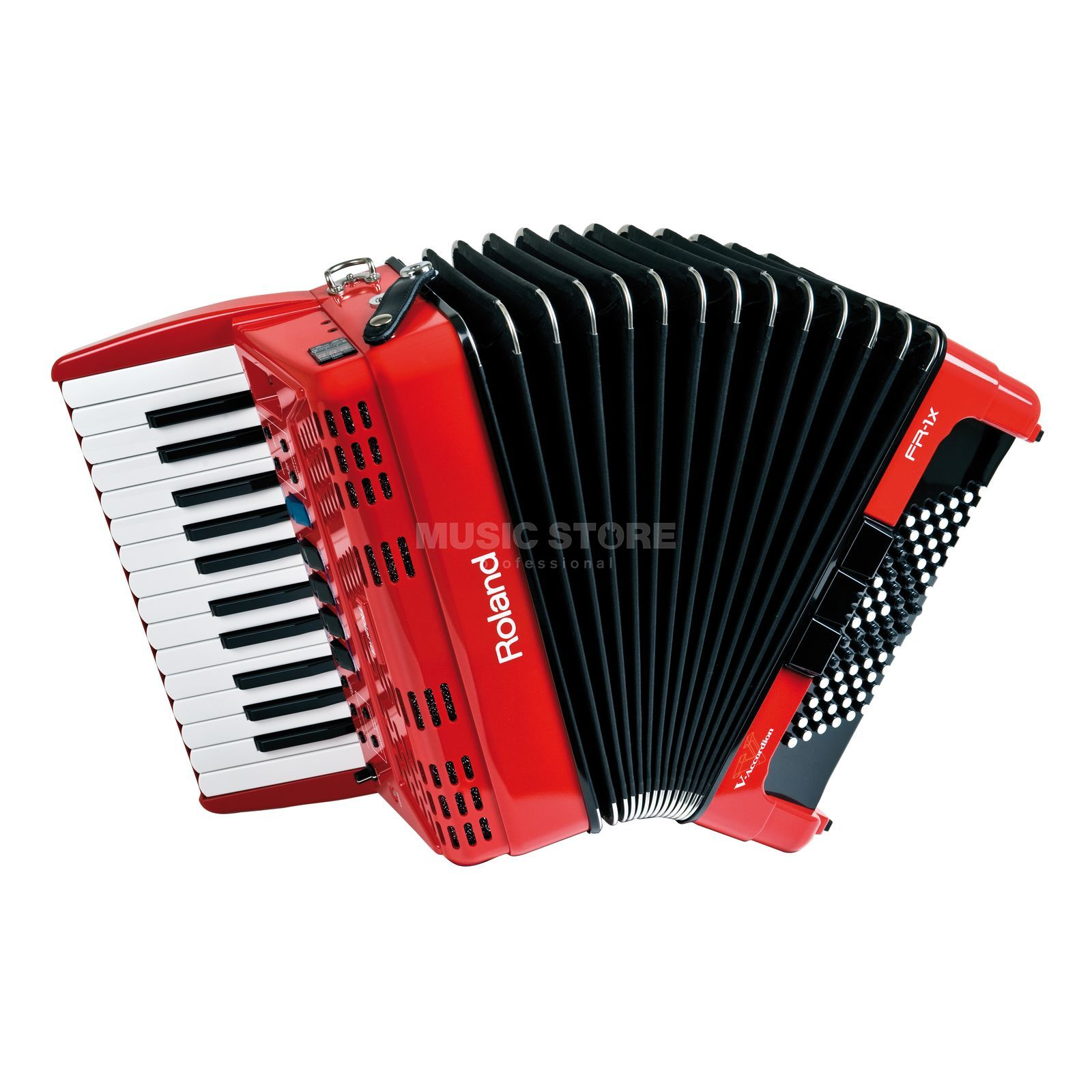 Roland FR-1X Piano-Type V-Accordian Red   Produktbillede