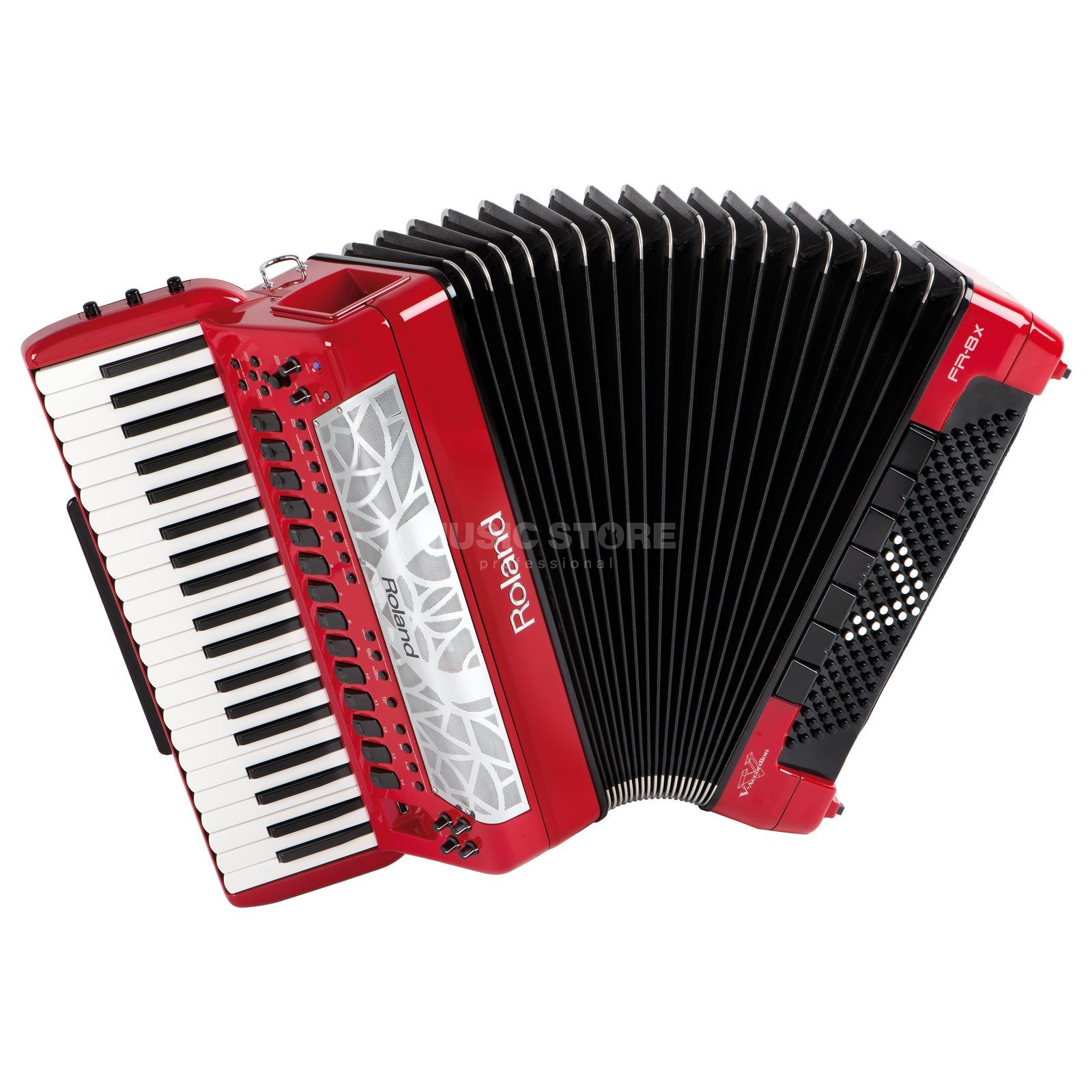 Roland FR-8x RD Piano-Accordion Red Produktbillede