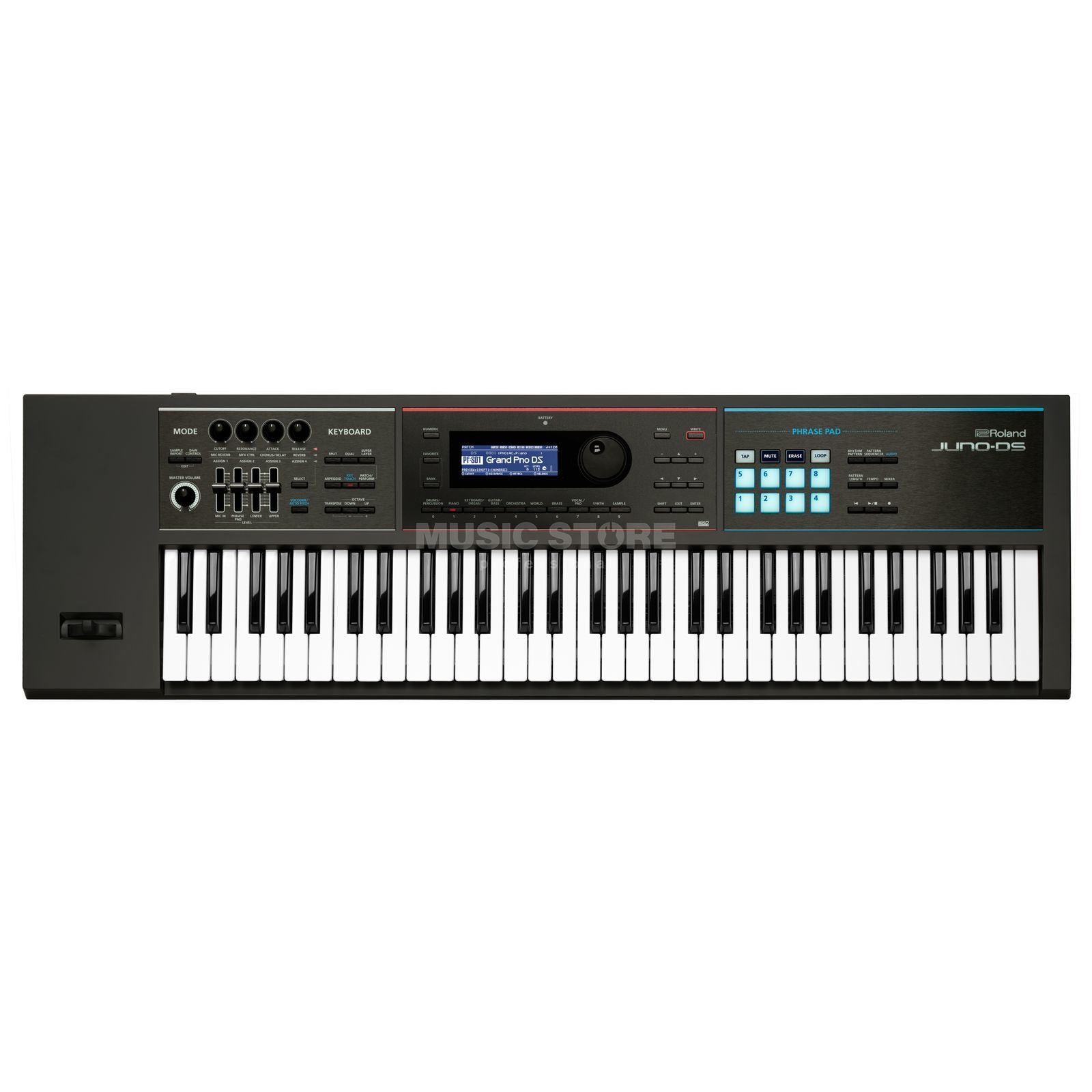 Roland Juno-DS 61 Synthesizer mit Sequenzer Produktbillede