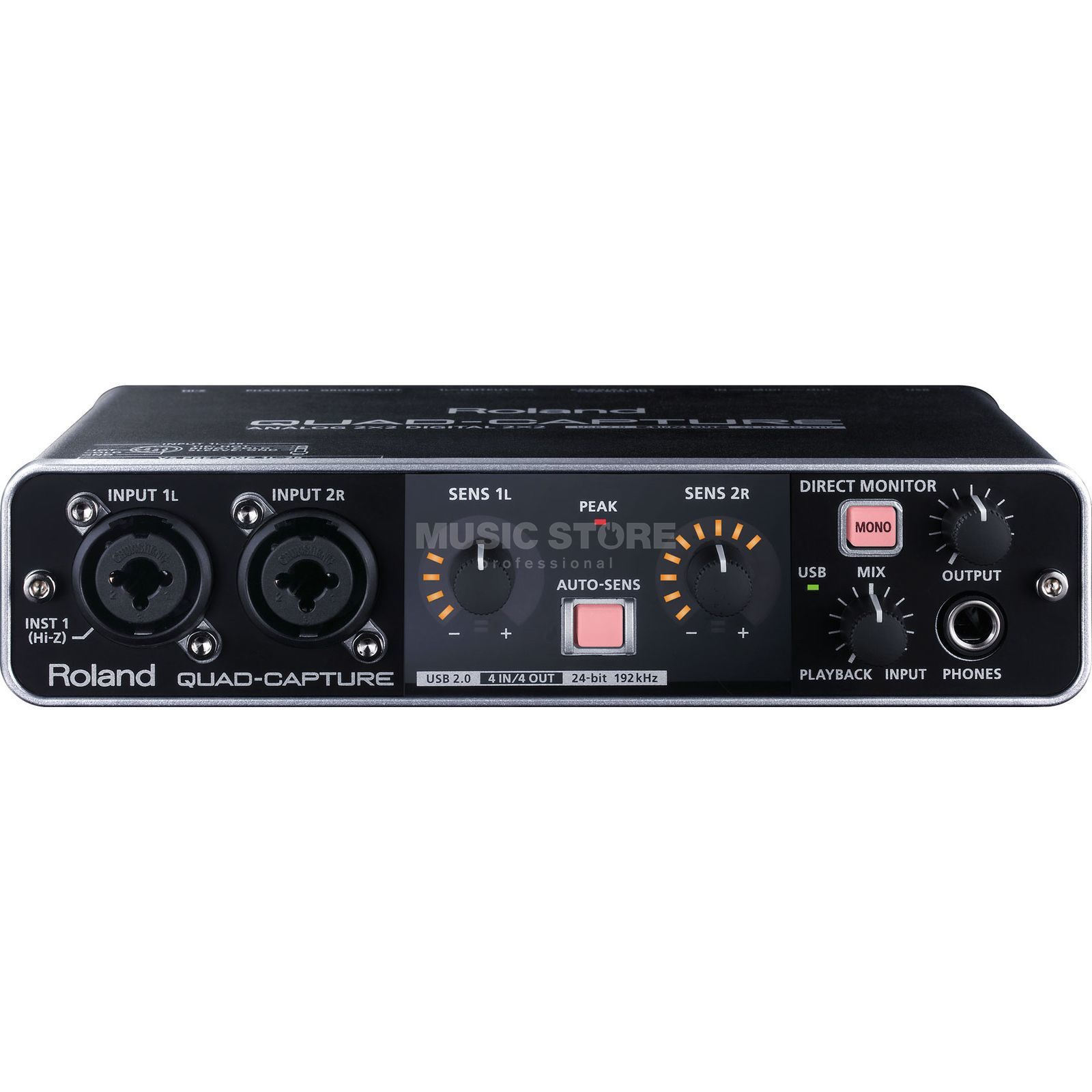 Roland QUAD-CAPTURE (UA-55) USB 2.0 Audio Interface Produktbild