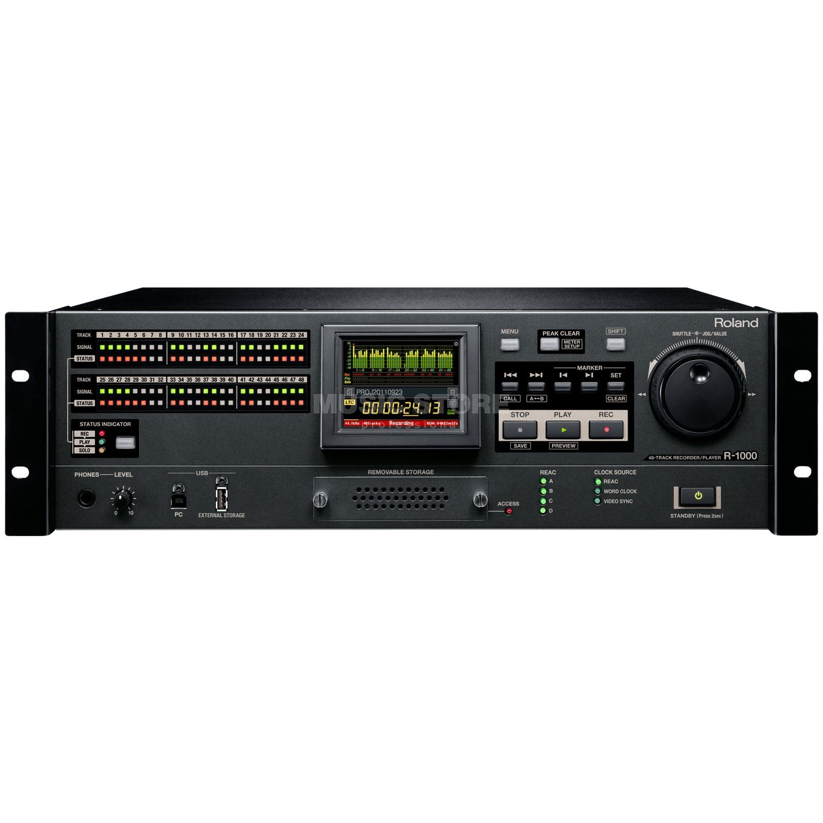 Roland RSS  R1000 48-Track Recorder/Player Produktbild