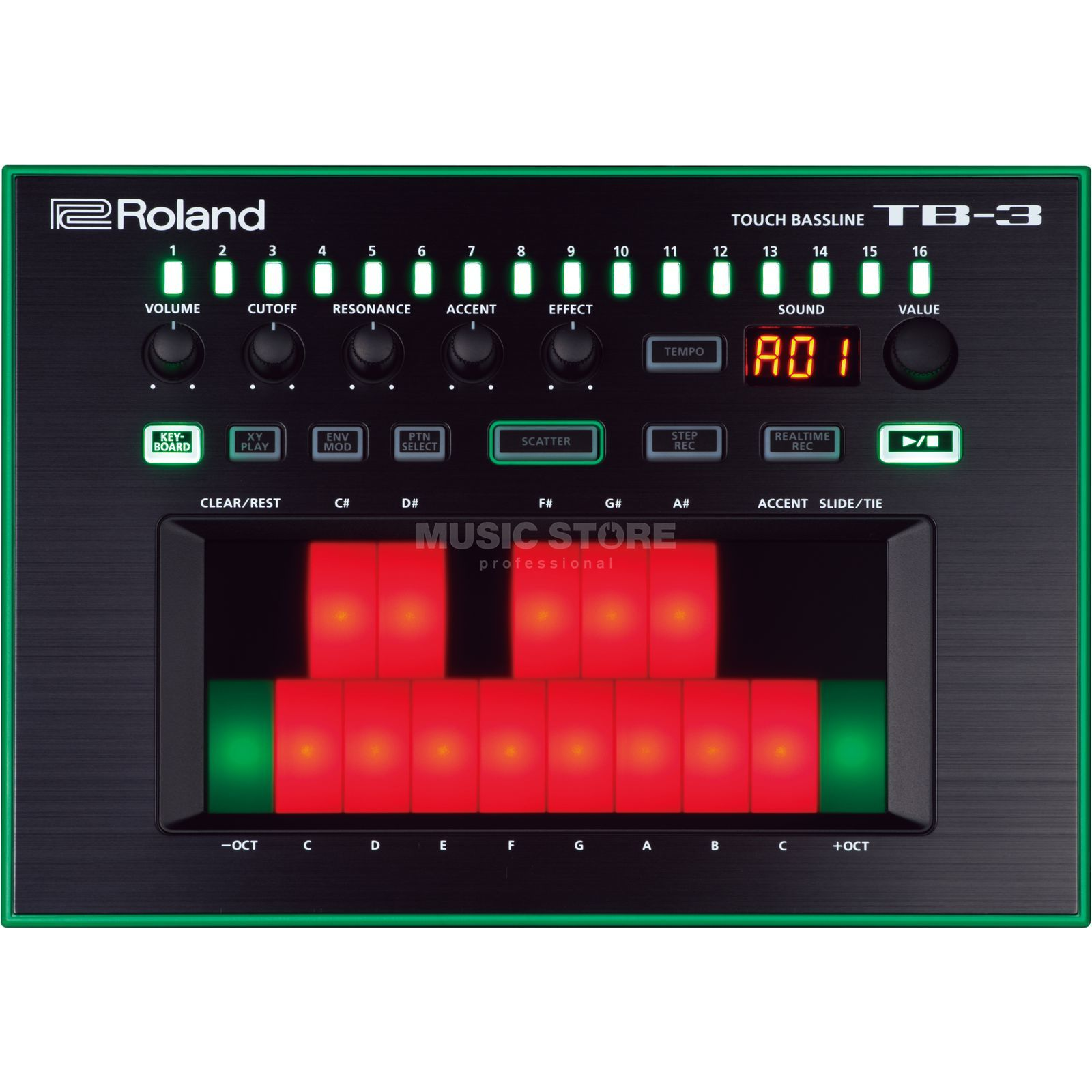 Roland TB-3 AIRA Touch Bassline Product Image