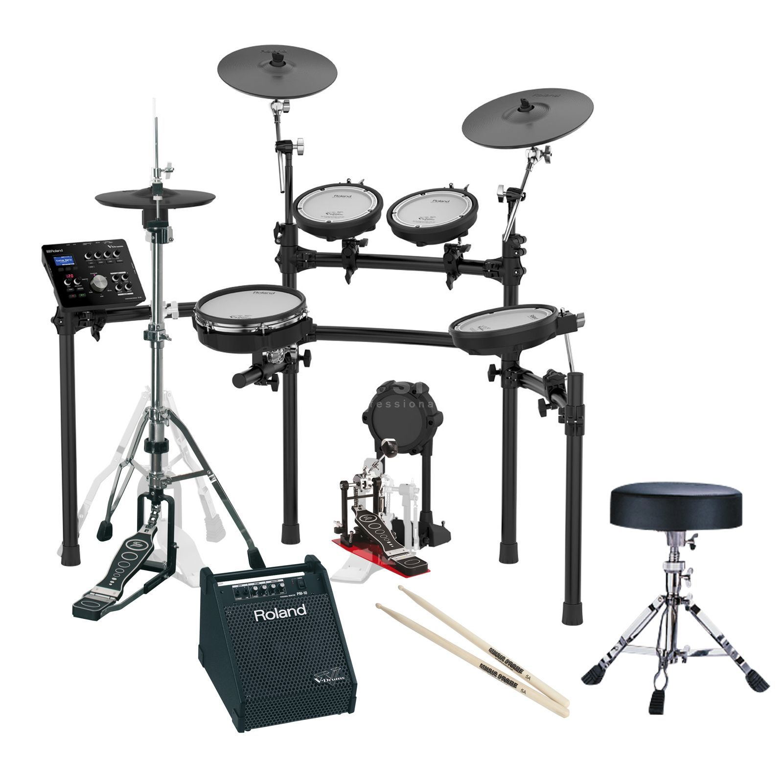 ROLAND TD-25K E-Drum Bundle 2 - Set Produktbild