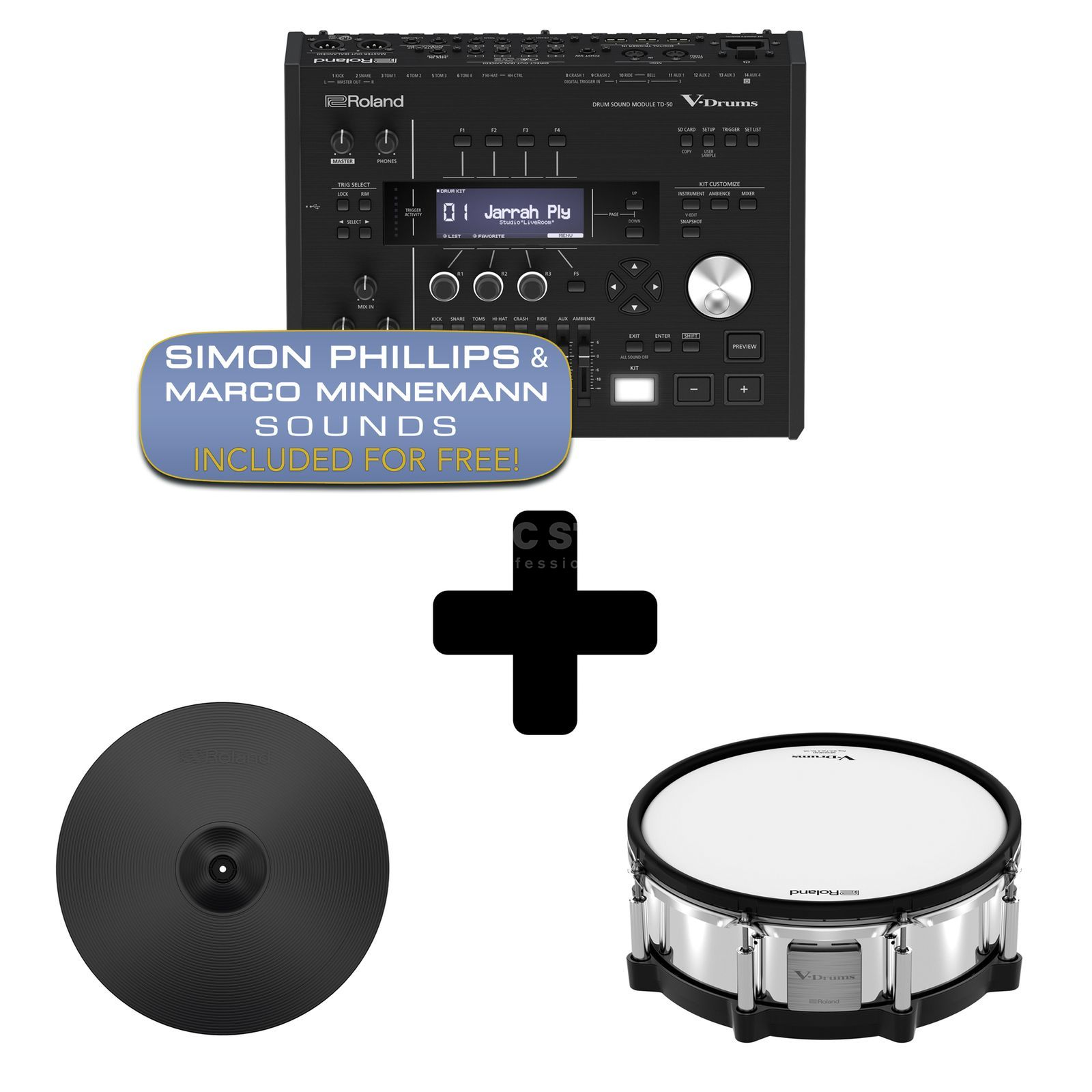 Roland TD-50DP Digital Upgrade Pack Produktbillede