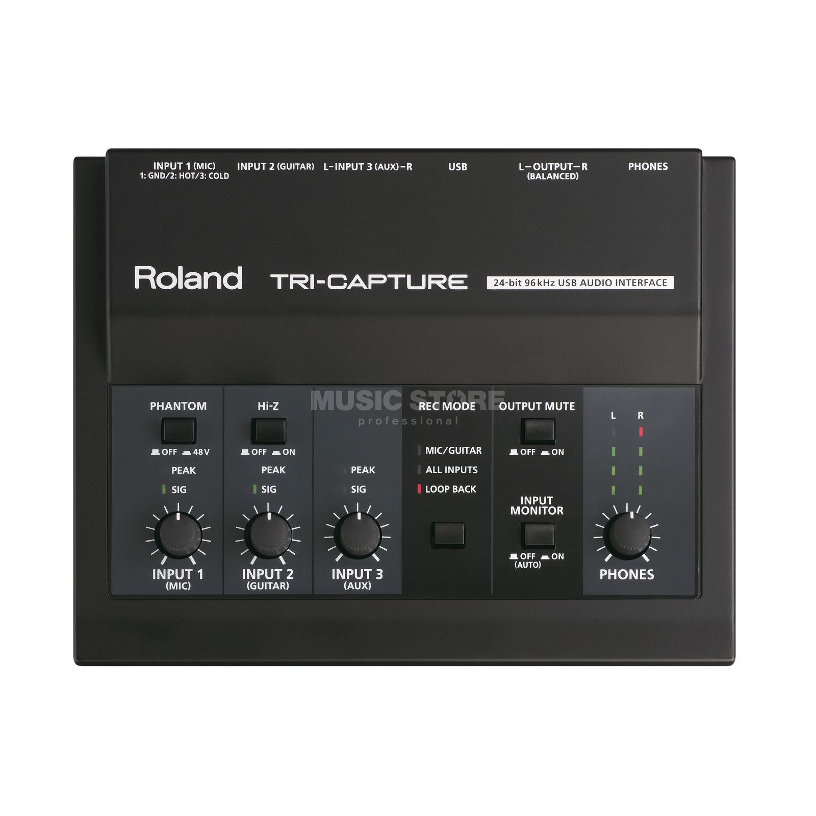 Roland TRI-CAPTURE (UA-33) USB Audio Interface Produktbild