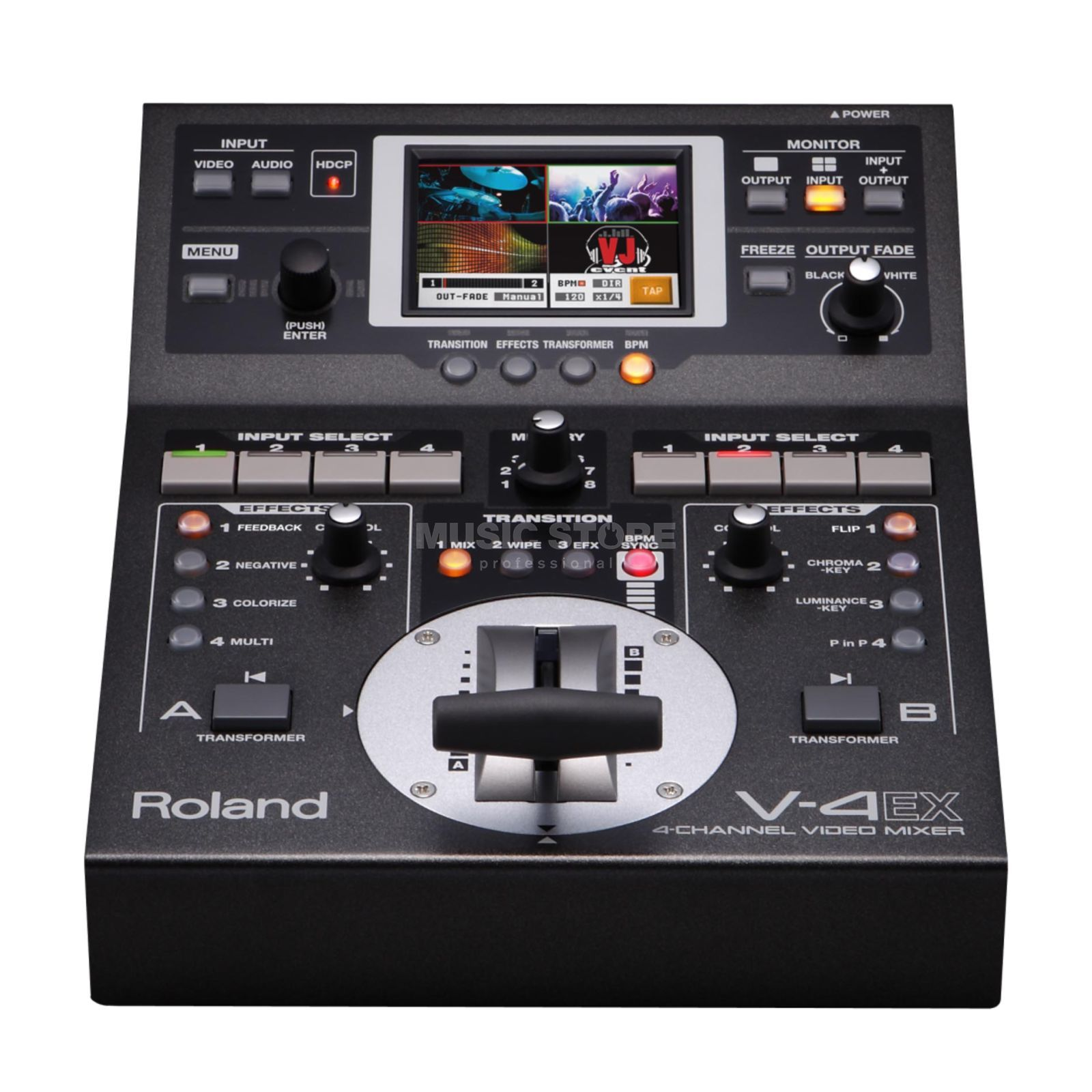 Roland V-4EX Digital Video Mixer Produktbillede