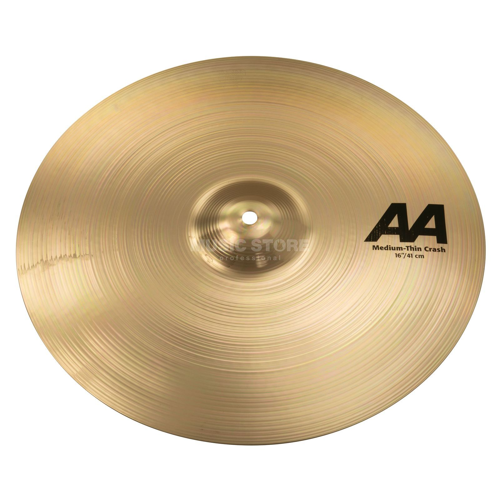 "Sabian AA Medium Thin Crash 16"" Brilliant Finish Produktbild"