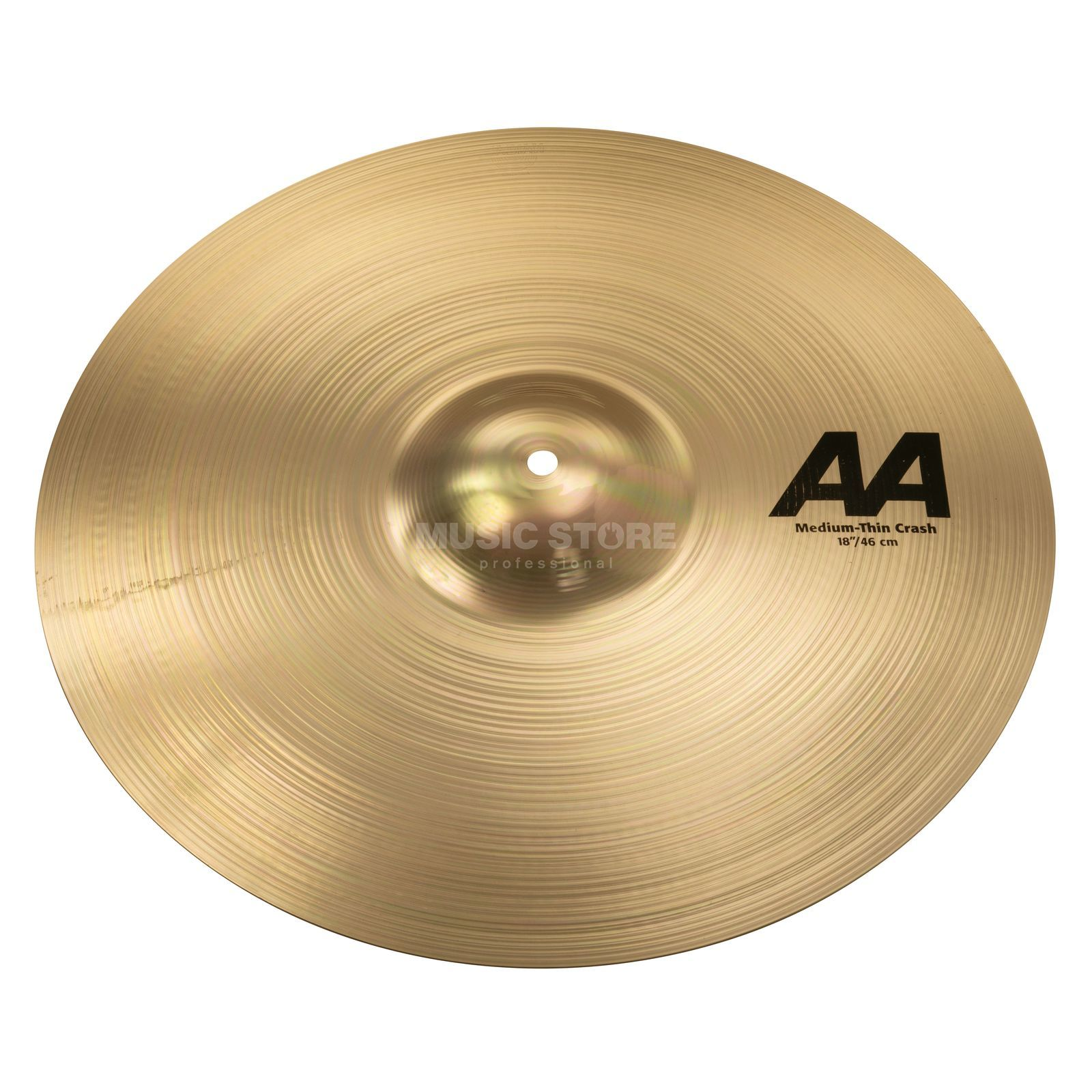 "Sabian AA Medium Thin Crash 18"" Brilliant Finish Produktbild"