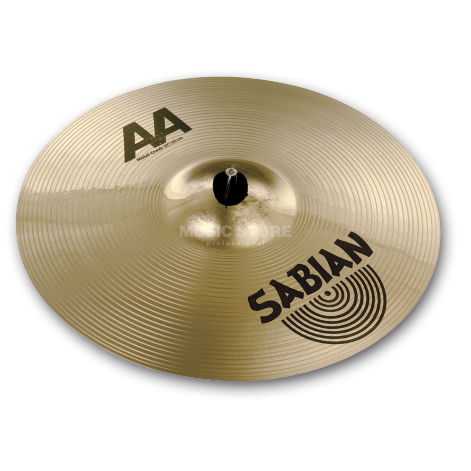 "Sabian AA Metal Crash 20"" Brilliant Finish Produktbillede"