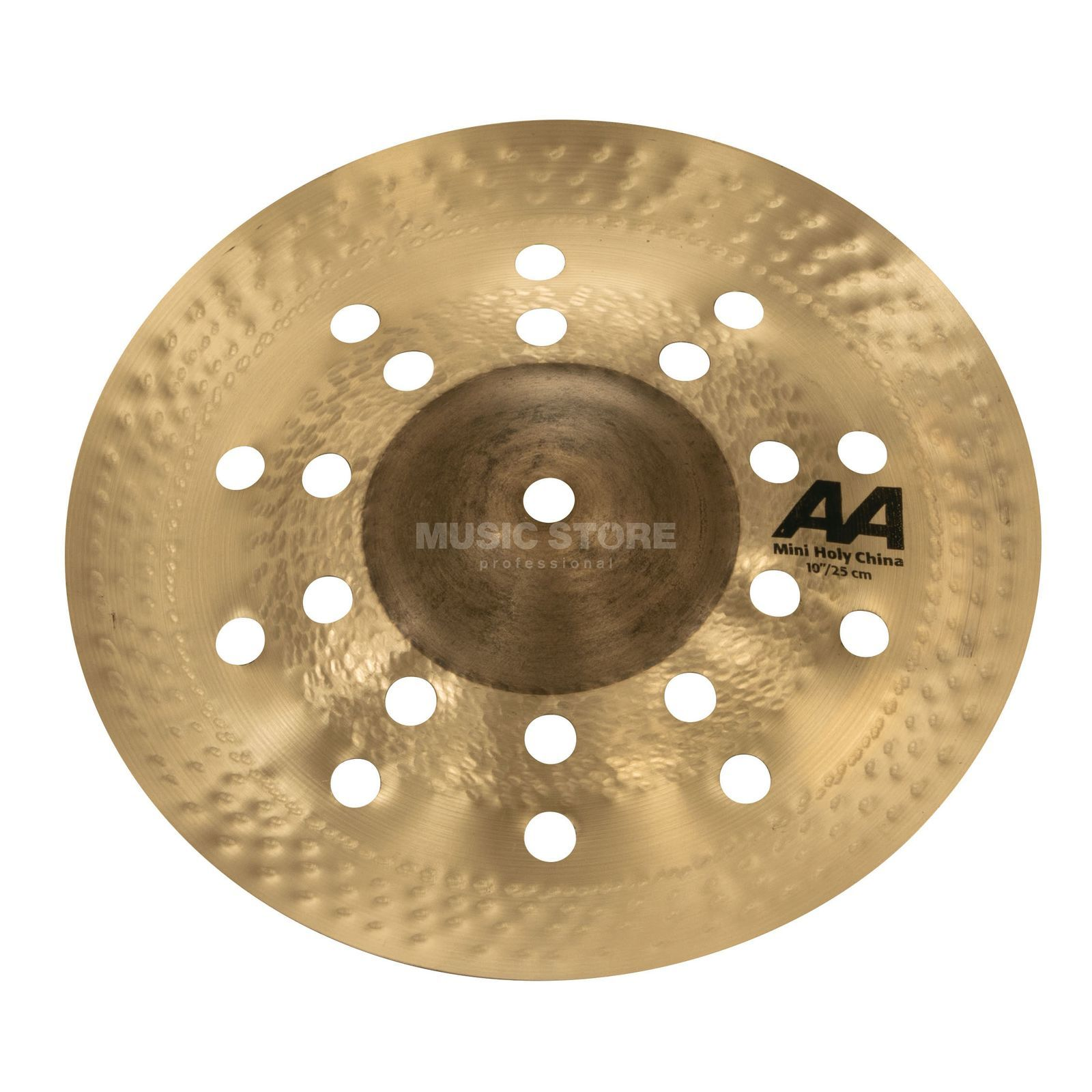 "Sabian AA Mini Holy China 10"" 21016CS Natural Product Image"