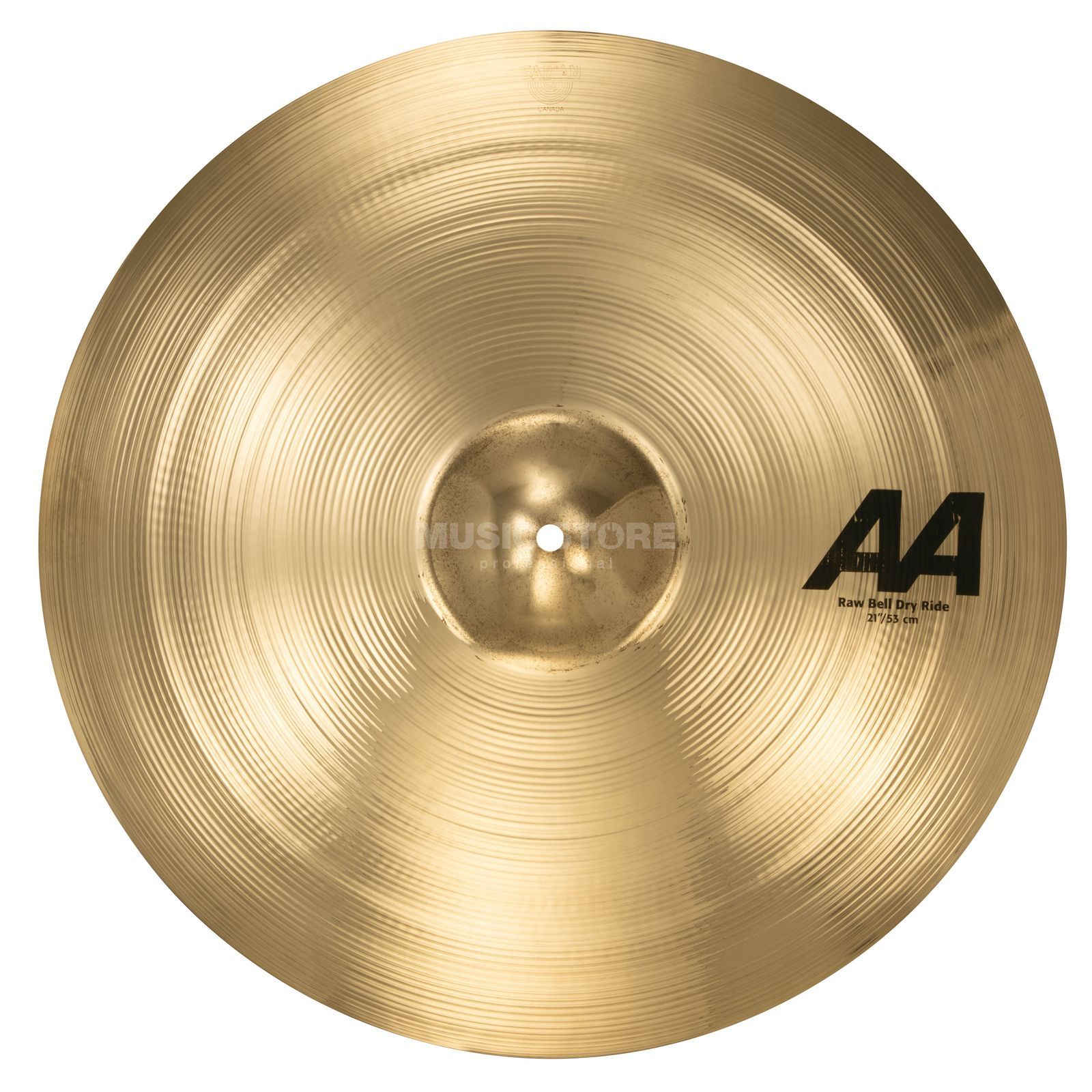 "Sabian AA Raw Bell Dry Ride 21"" Brilliant Finish Produktbild"