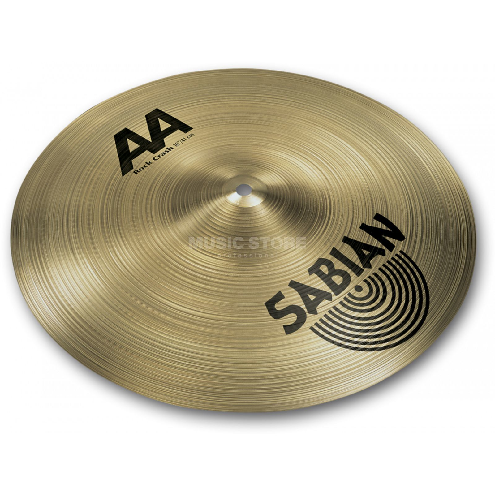 "Sabian AA Rock Crash 16"", Brilliant Finish Produktbild"