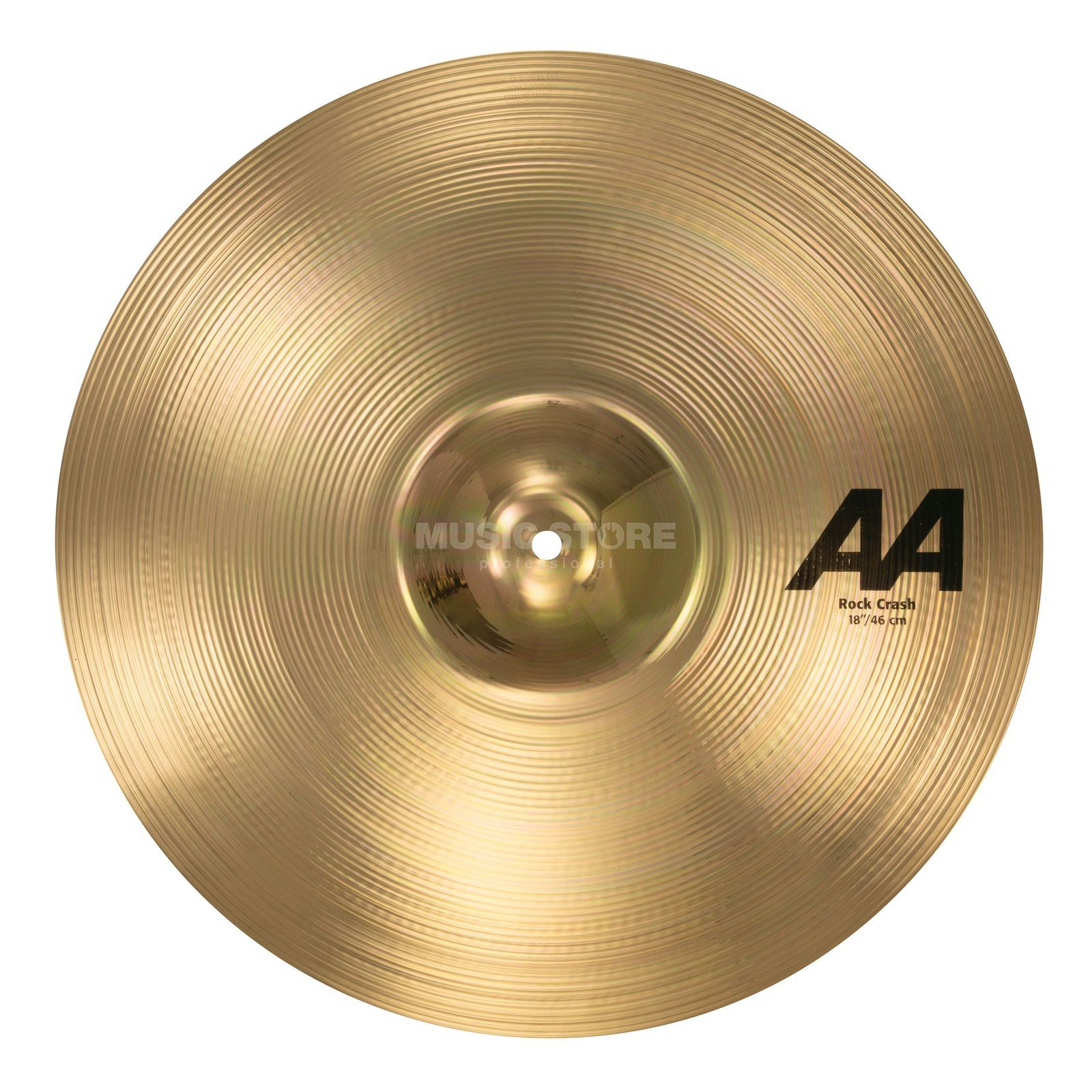 "Sabian AA Rock Crash 18"", Brilliant Finish Produktbild"