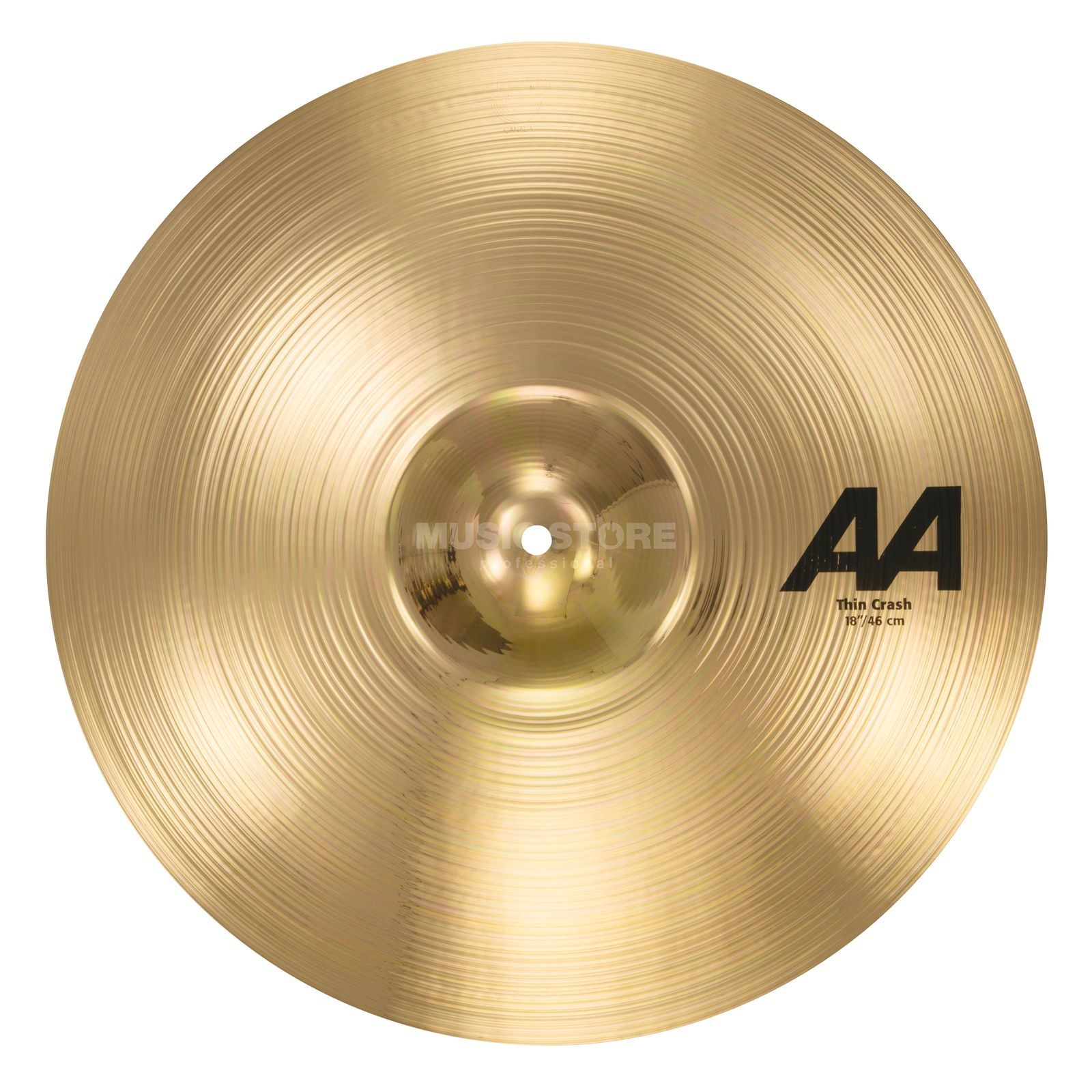 "Sabian AA Thin Crash 18"" Brilliant Finish Produktbillede"