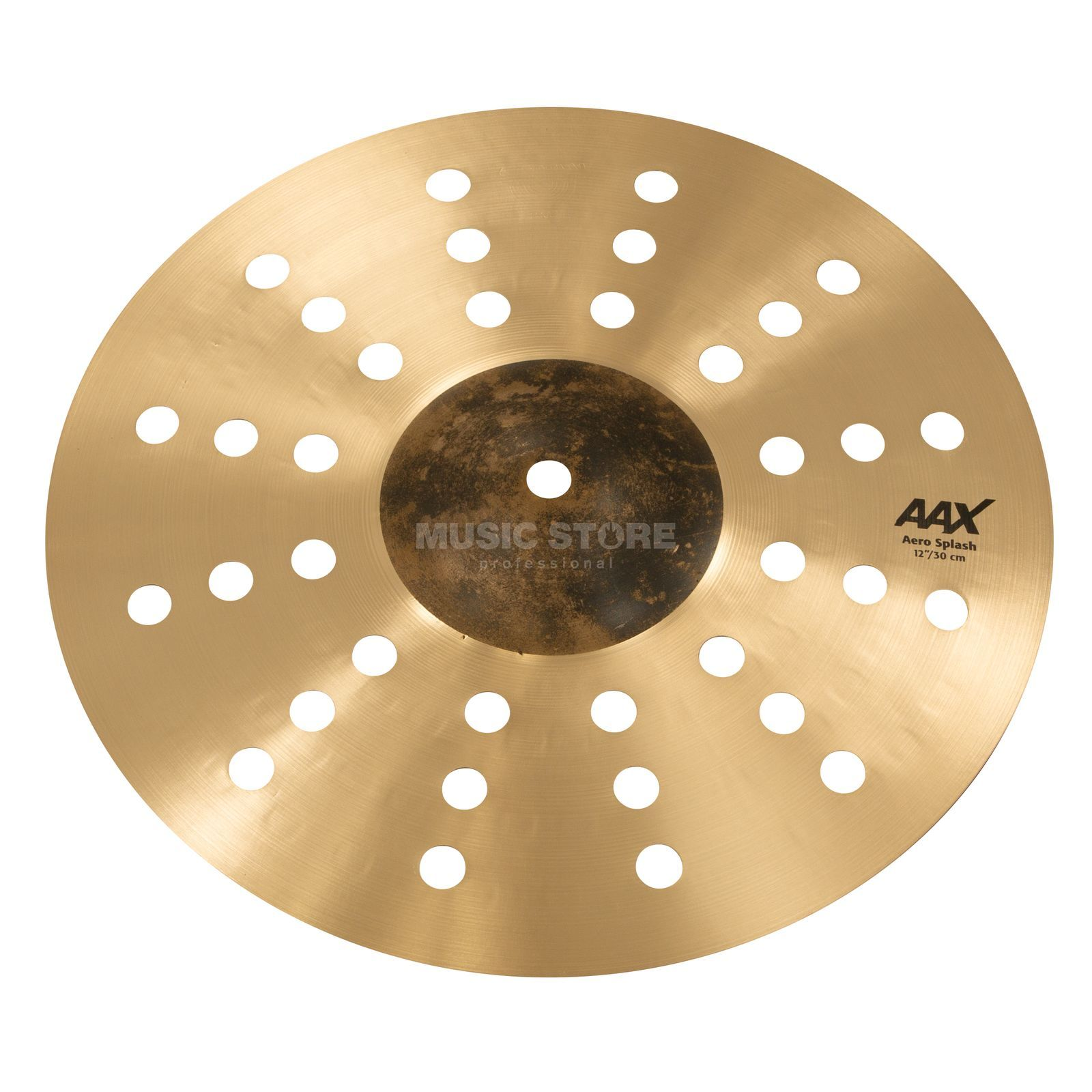 "Sabian AAX Aero Splash 212XAC 12"" Natural Product Image"