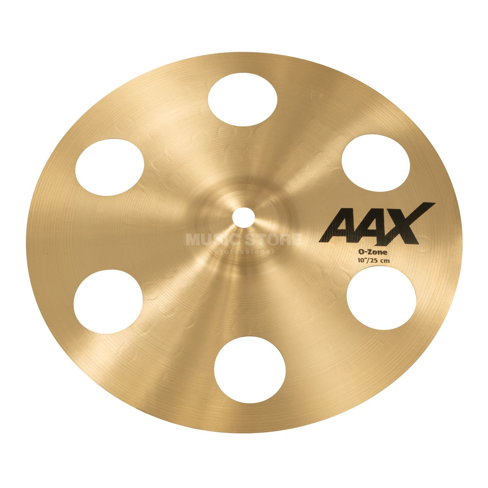 "Sabian AAX O-Zone Splash 10"" Natural Finish Produktbillede"