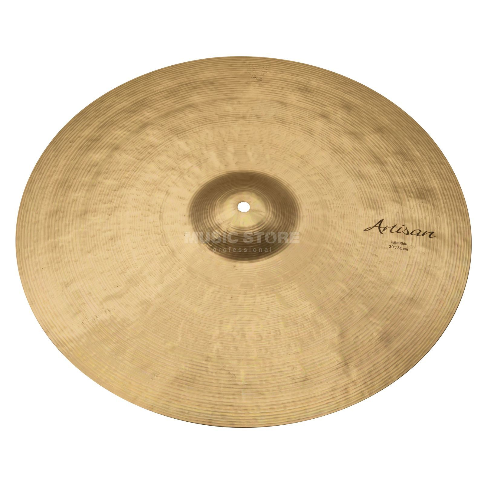 "Sabian Artisan Light Ride 20"", Brilliant Finish Produktbillede"