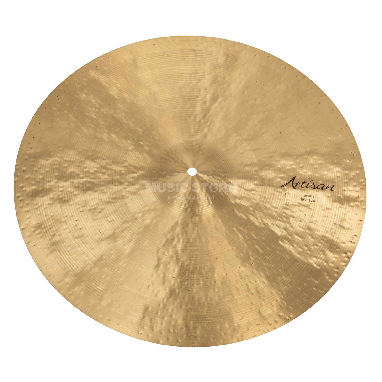 "Sabian Artisan Light Ride 20"", Natural Finish Produktbillede"