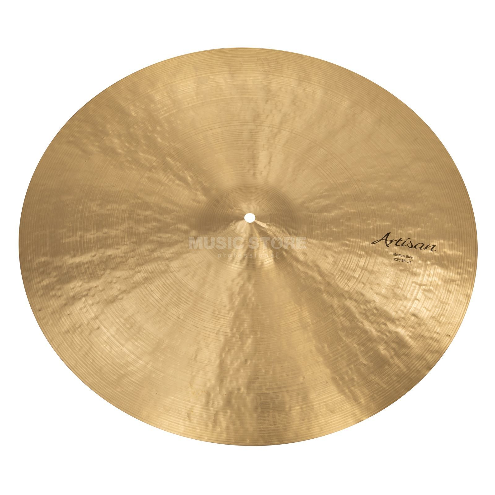 "Sabian Artisan Medium Ride 22"", Natural Finish Produktbillede"