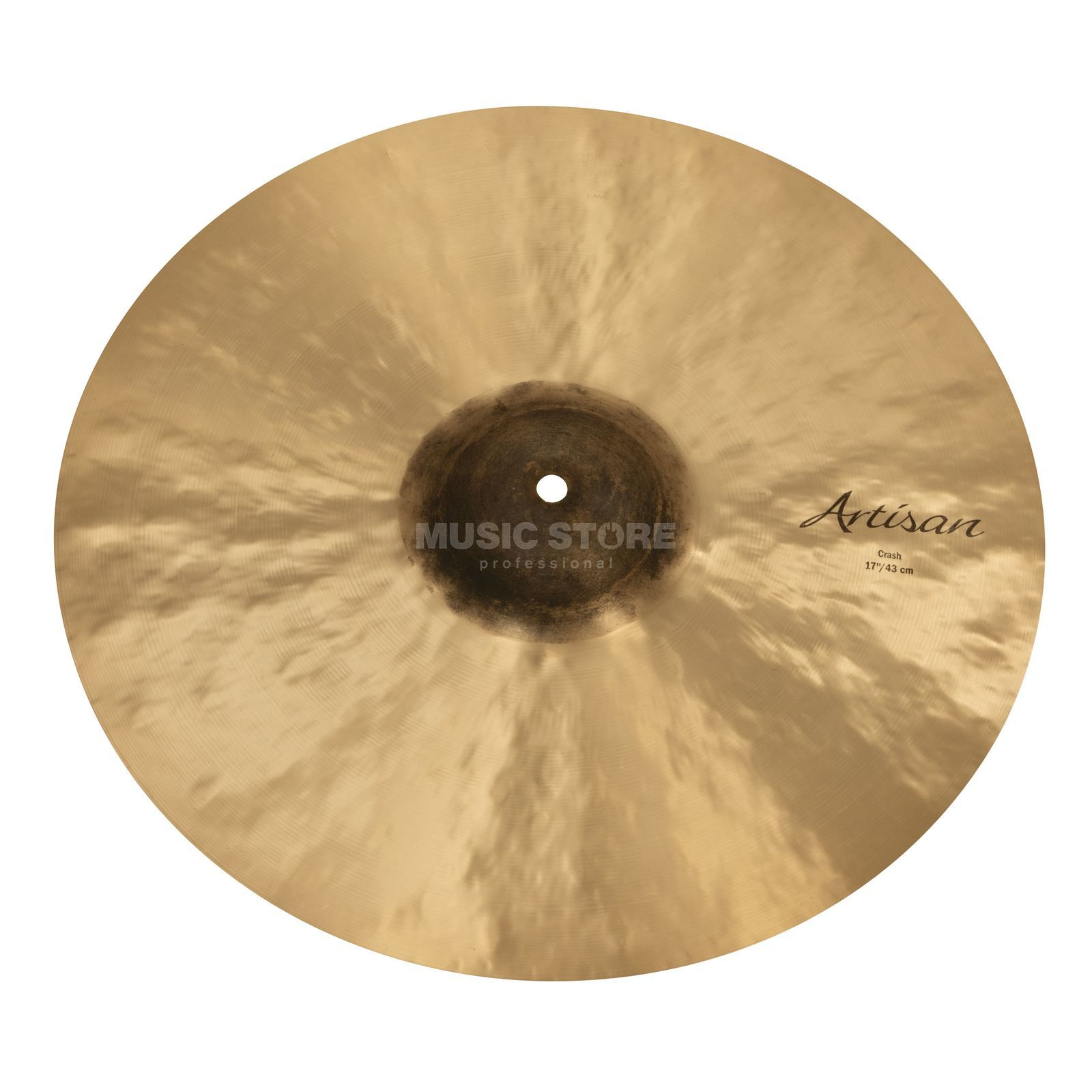 "Sabian Artisan Thin Crash 17"", Natural Finish Produktbillede"