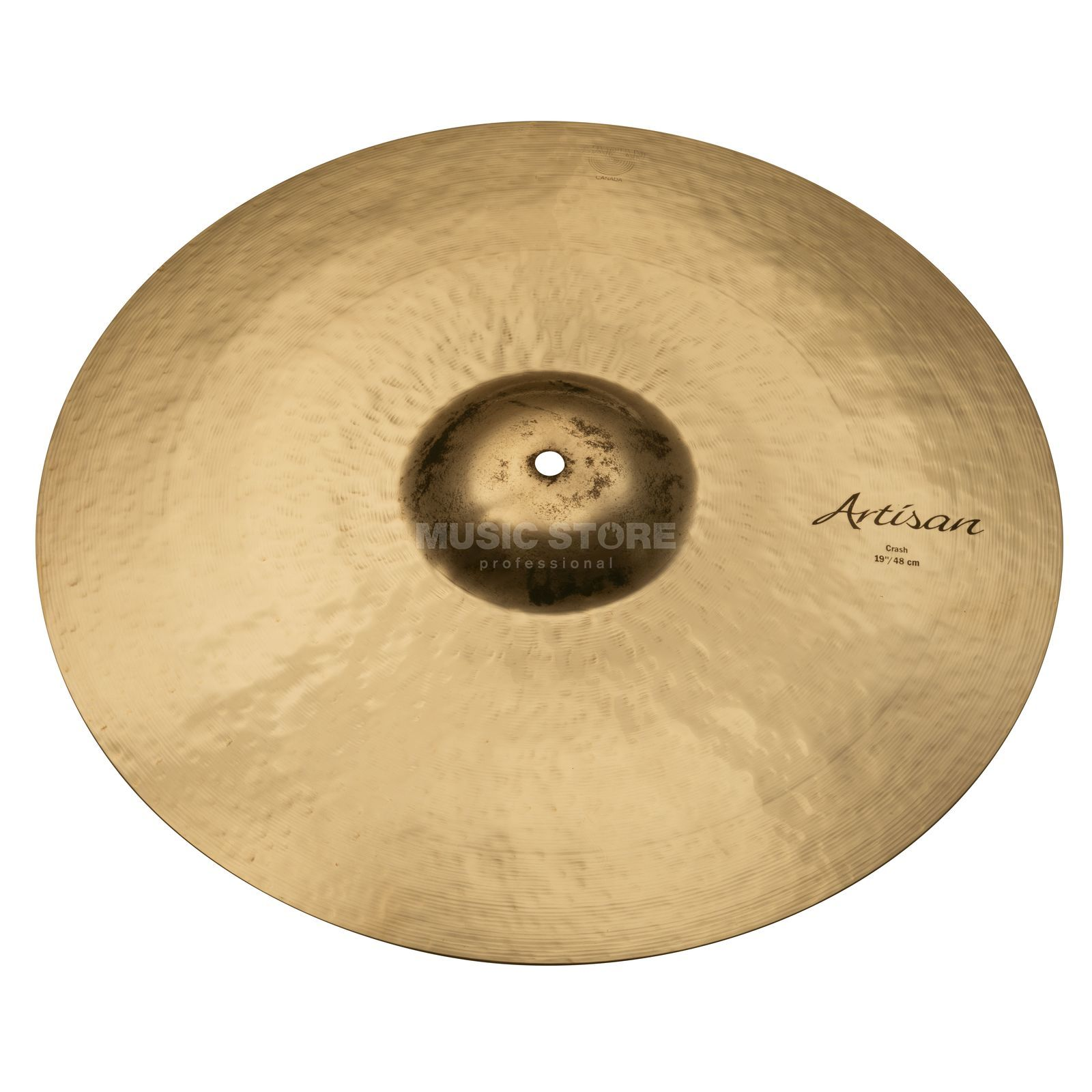 "Sabian Artisan Thin Crash 19"", Brilliant Finish Produktbillede"