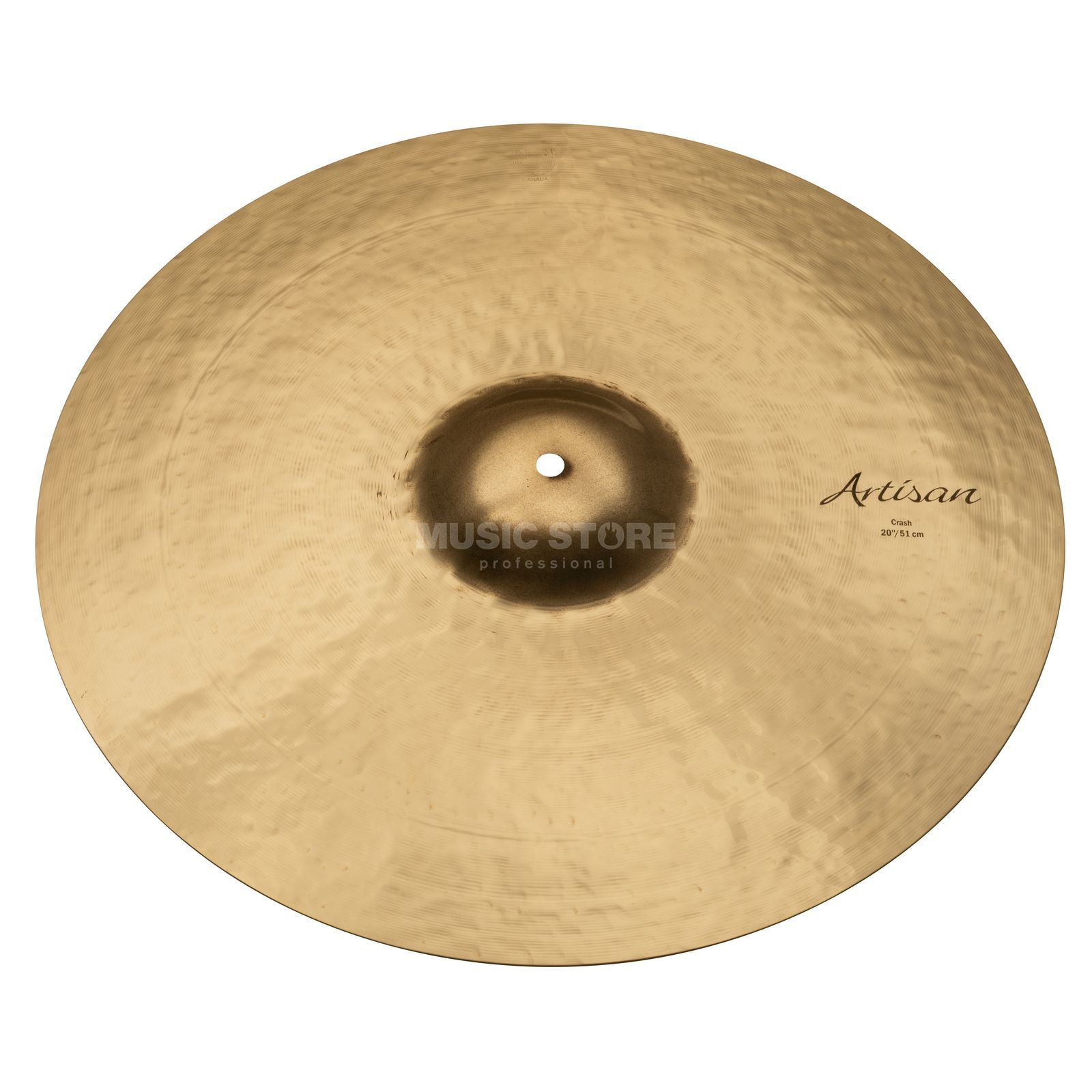 "Sabian Artisan Thin Crash 20"", finition brillante Image du produit"