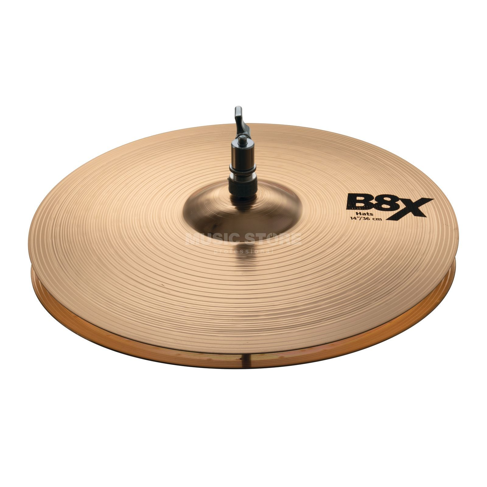"Sabian B8X Medium HiHat 14"", Natural Produktbillede"