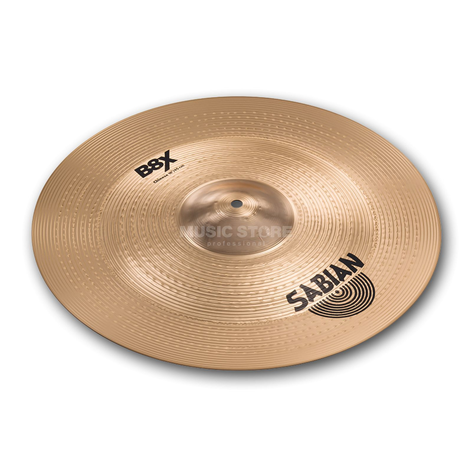 "Sabian B8X Thin China 18"", Natural Product Image"
