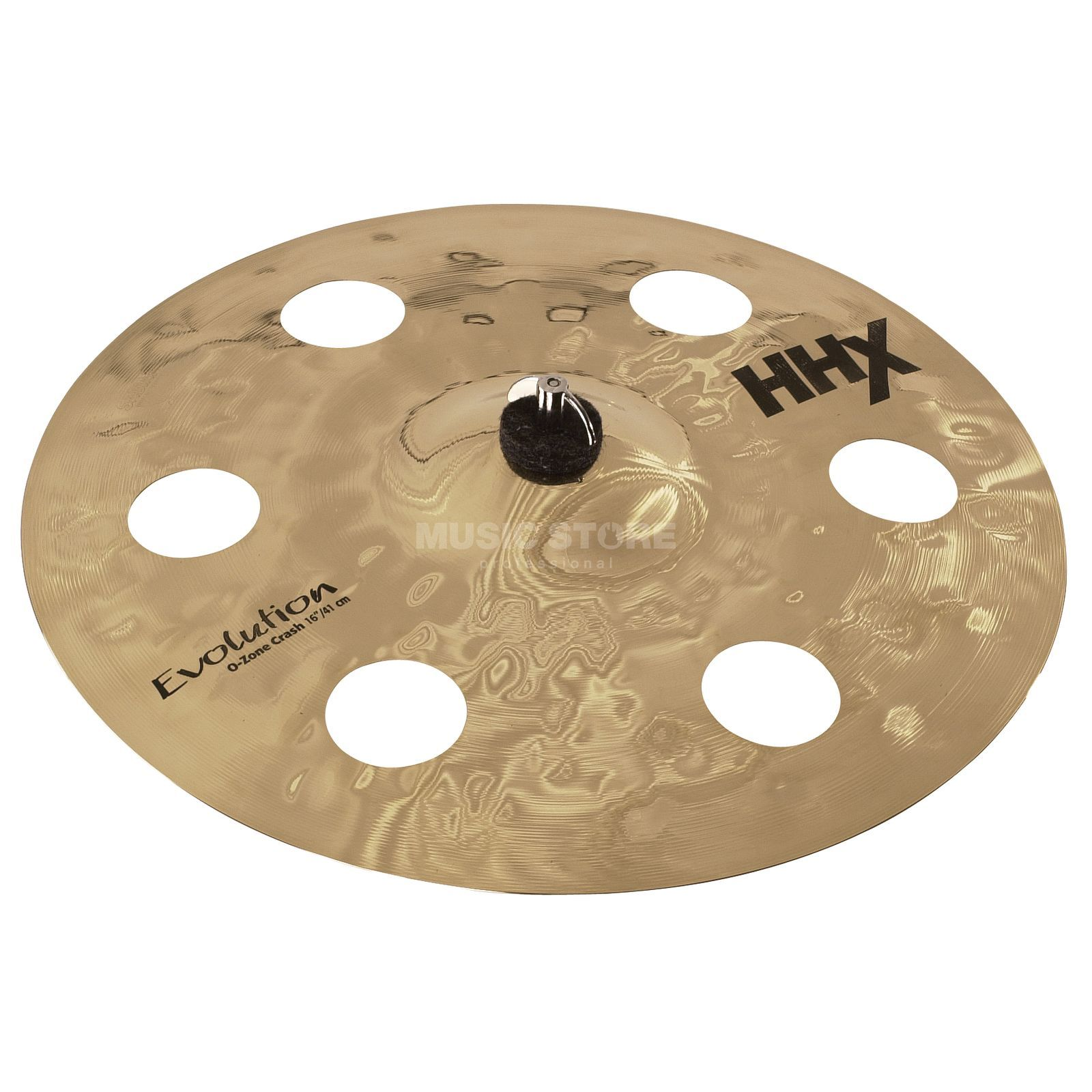 "Sabian HHX Evolution O-Zone Crash 16"" Brilliant Produktbillede"