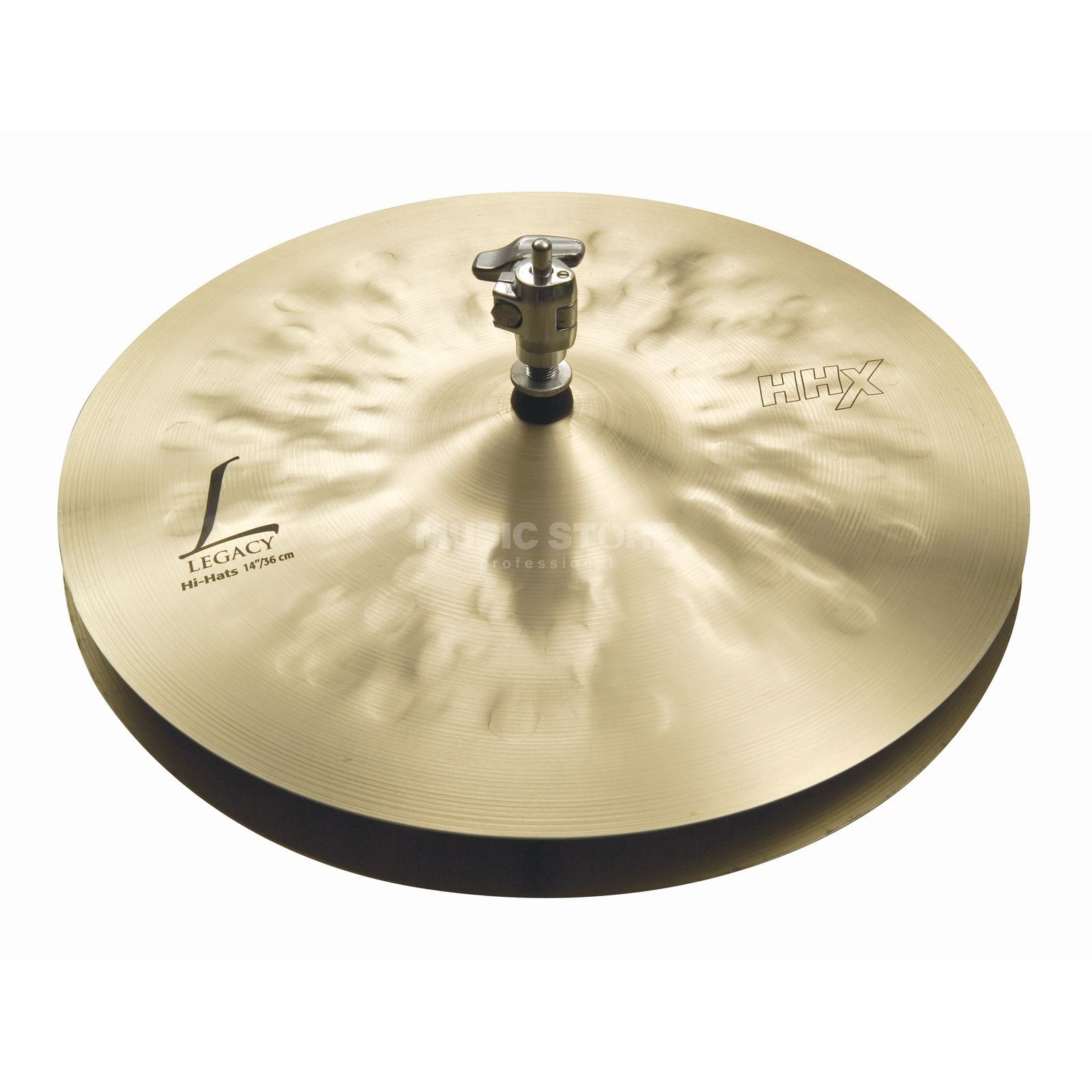 "Sabian HHX Legacy HiHat 14"" Natural Finish Product Image"