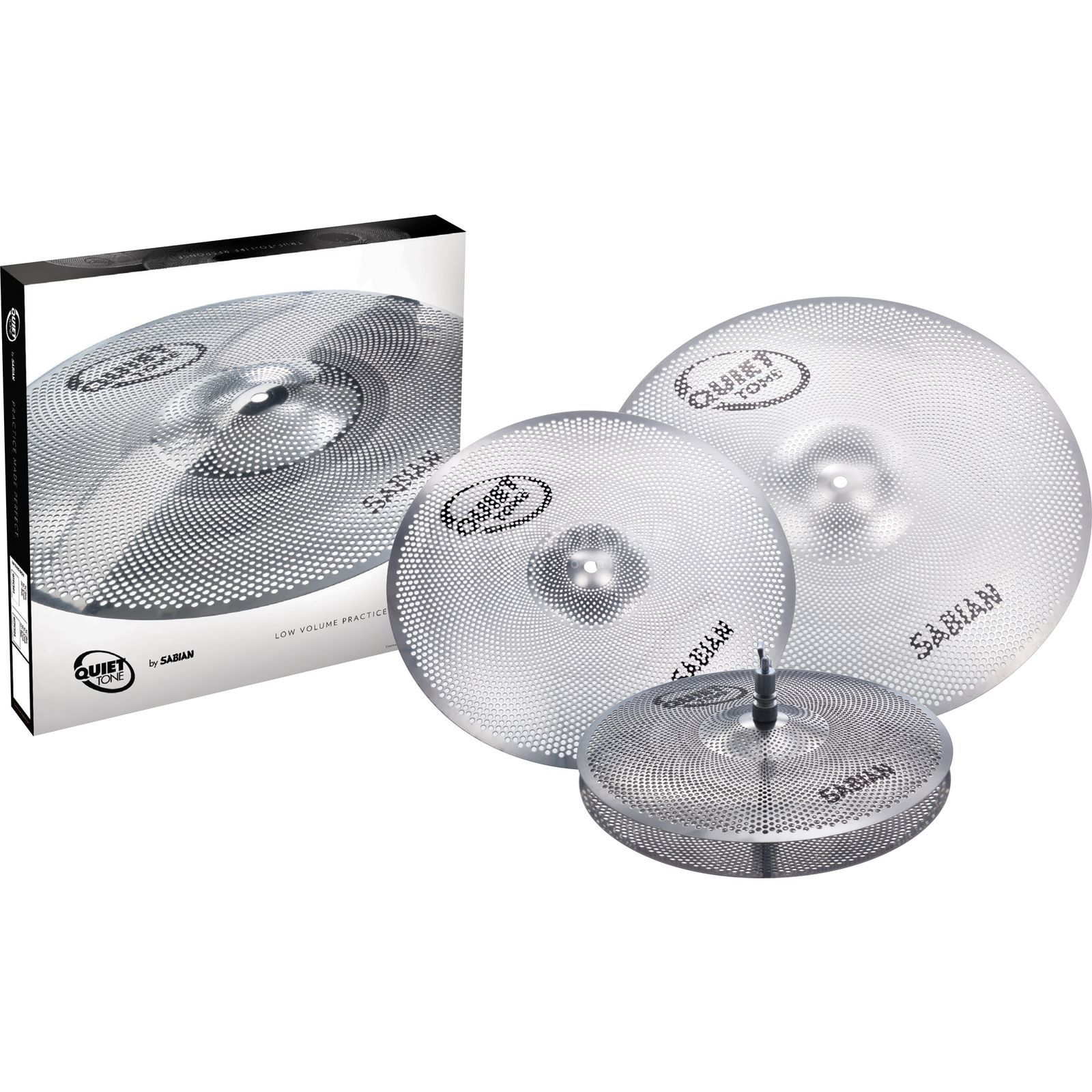 Sabian Quiet Tone Set QTP503 Product Image