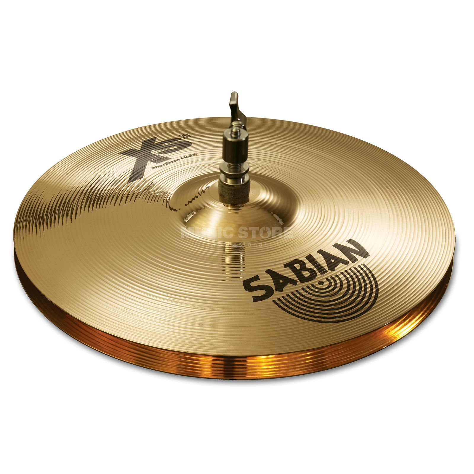 "Sabian XS20 Medium HiHat 14"", Brilliant Finish Produktbillede"