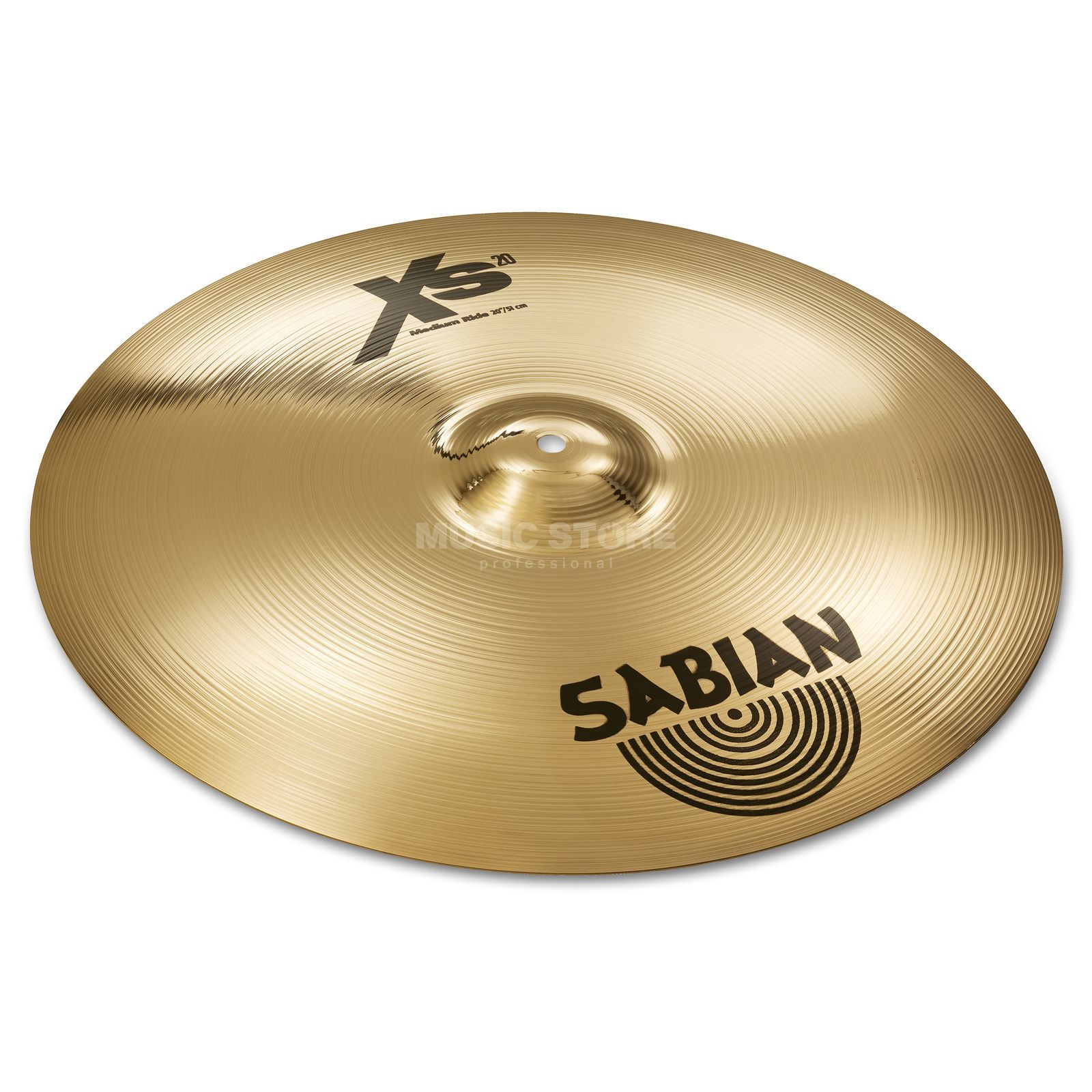 "Sabian XS20 Medium Ride 20"", Brilliant Finish Product Image"