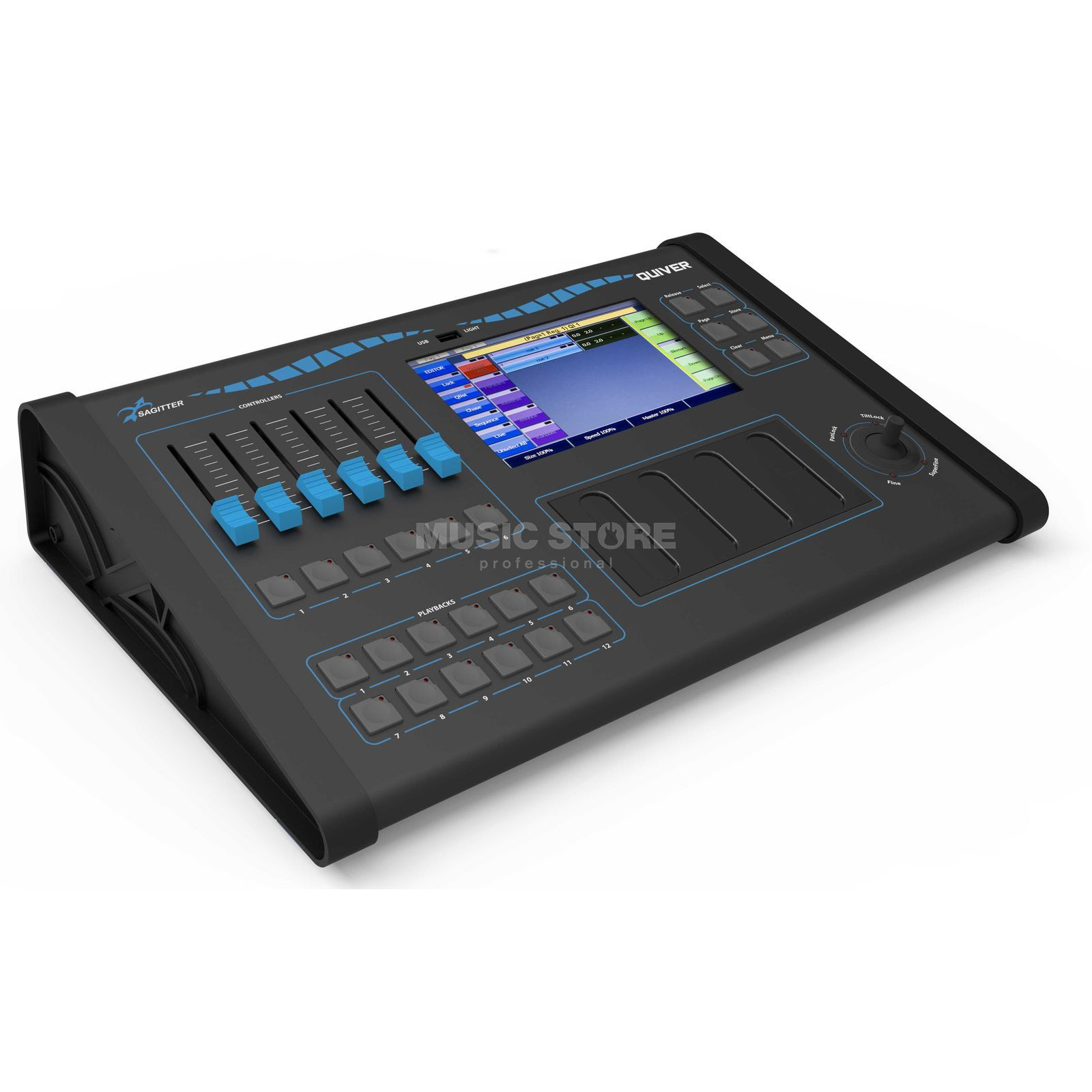 Sagitter Quiver DMX Controller 512 Channels / up to 1536 Zdjęcie produktu