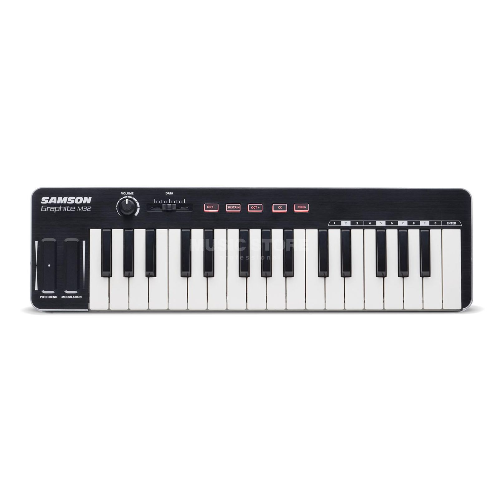 Samson Graphite M32 B-Stock Masterkeyboard with Mini-Tasten Produktbillede