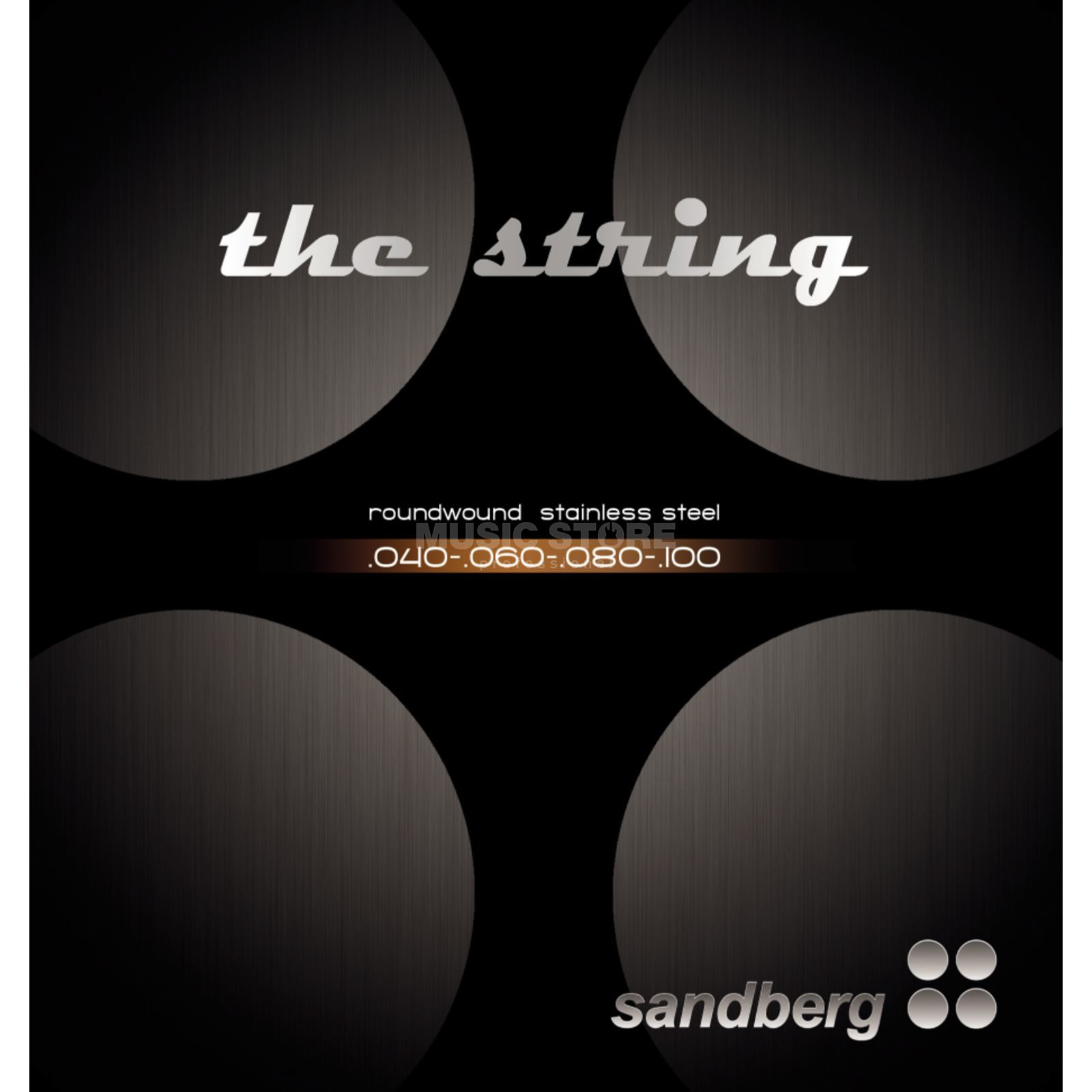Sandberg Bass Strings 4-Set 040-100  Изображение товара