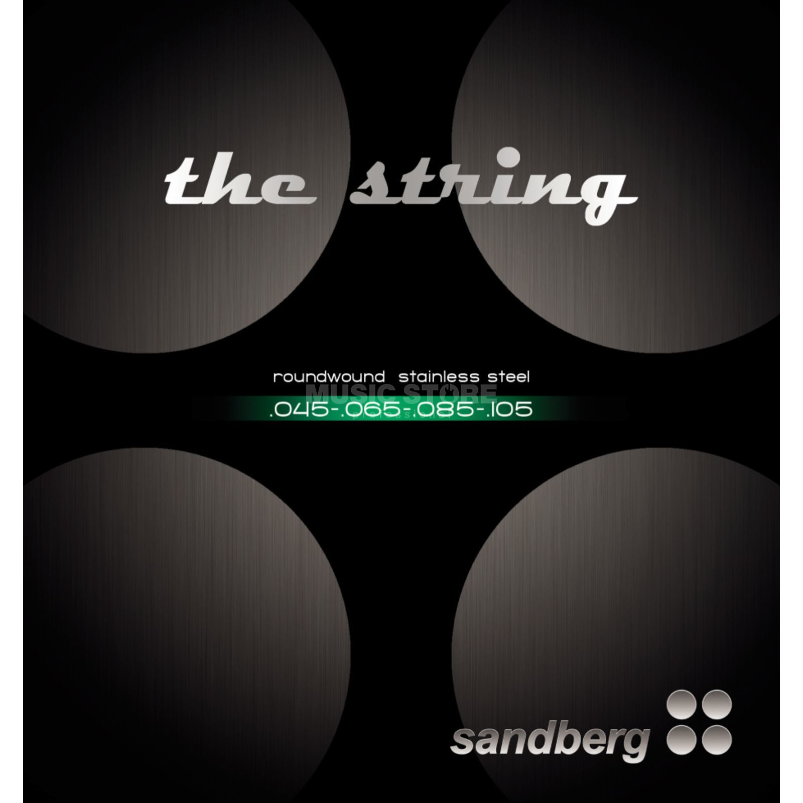 Sandberg Bass Strings 4-Set 045-105 (045-065-085-105) Product Image