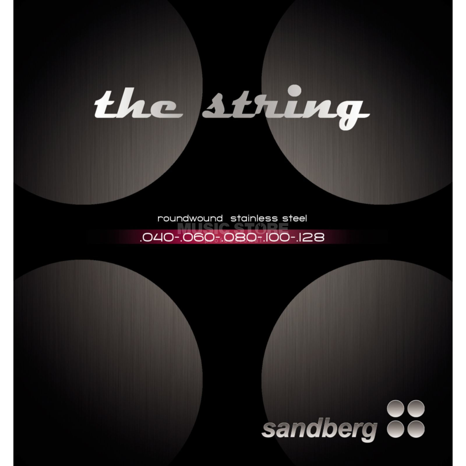 Sandberg Bass Strings 5-Set 040-128  Изображение товара