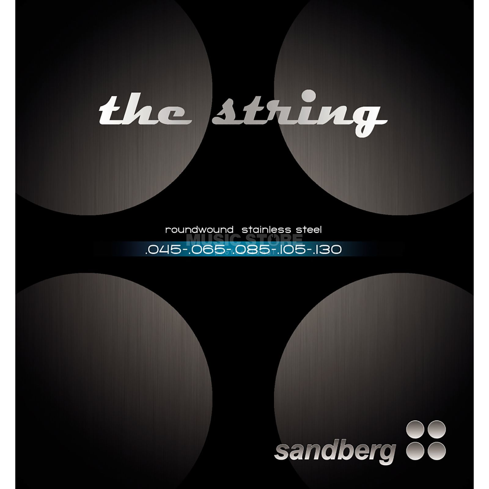 Sandberg Bass Strings 5-Set 045-130 (045-065-085-105-130) Product Image