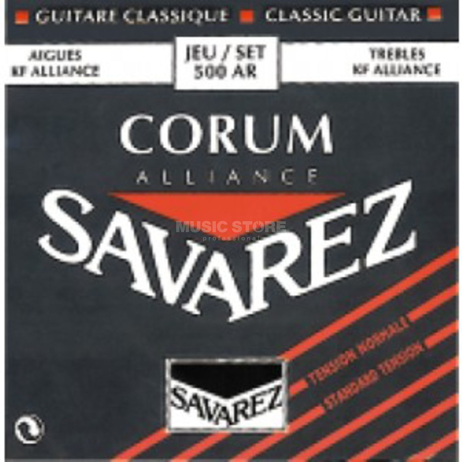 Savarez K-Git. Saiten 500AR Corum Carbon, Normal Tension Produktbild