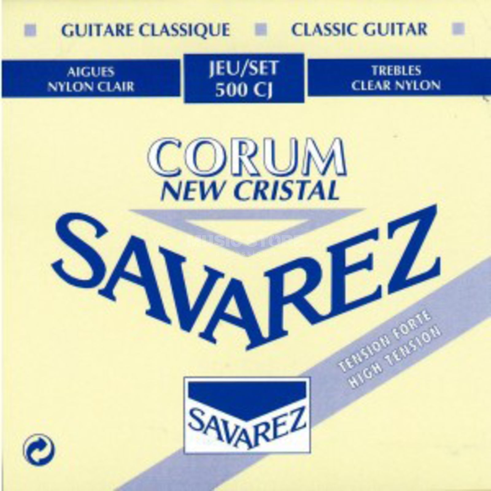 Savarez K-Git. Saiten 500CJ Corum New Cristal, High Tension Produktbillede