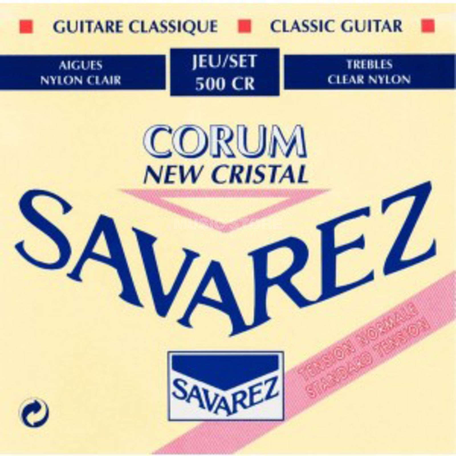 Savarez K-Git. Saiten 500CR Corum New Cristal, Normal Tension Produktbillede