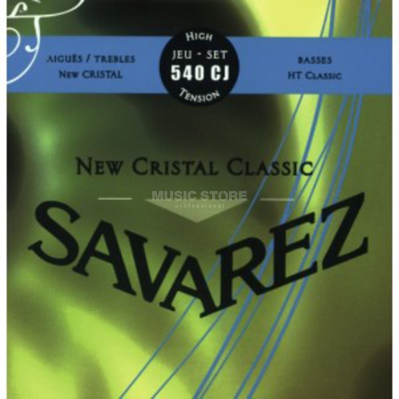 Savarez K-Git. Saiten 540CJ Corum New Cristal, High Tension Produktbillede