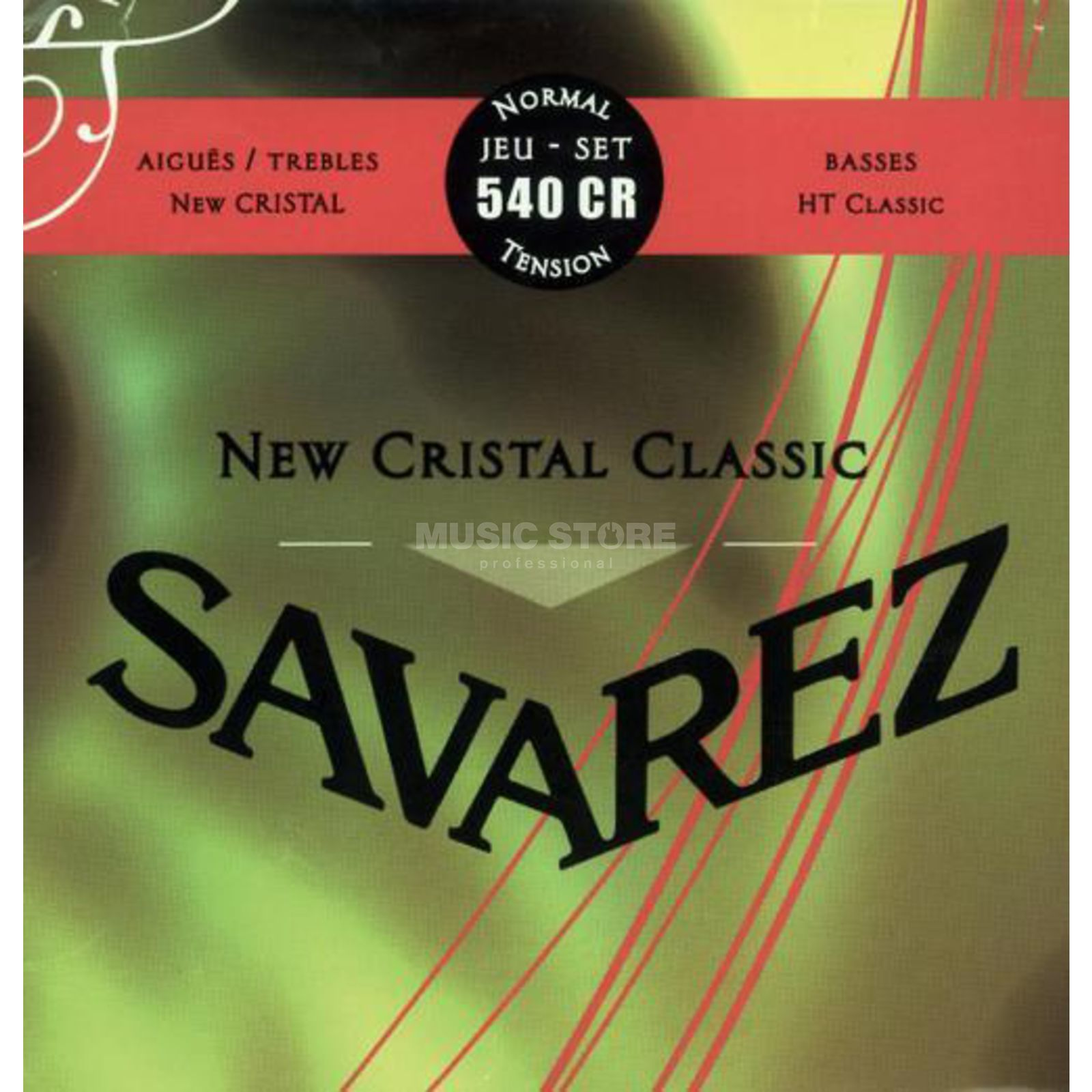 Savarez K-Git. Saiten 540CR Corum New Cristal, Normal Tension Изображение товара