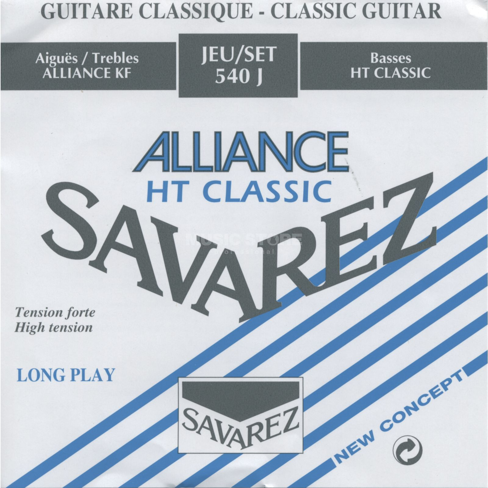 Savarez K-Git. Saiten 540J Alliance High Tension Produktbillede