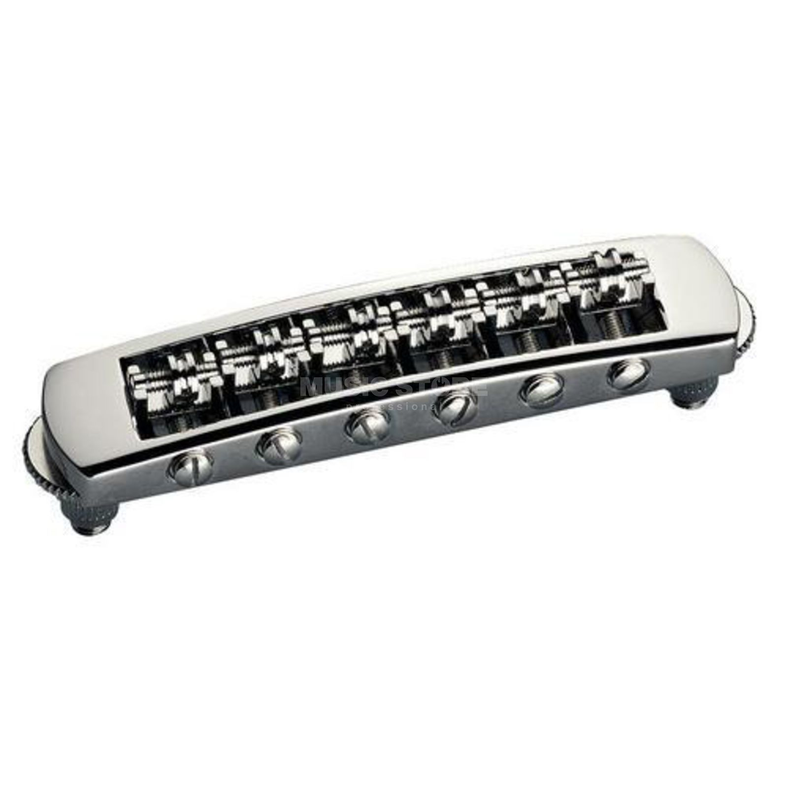 Schaller SC Bridge,STM Rollerbridge Nickel 3-D verstellbar Produktbild