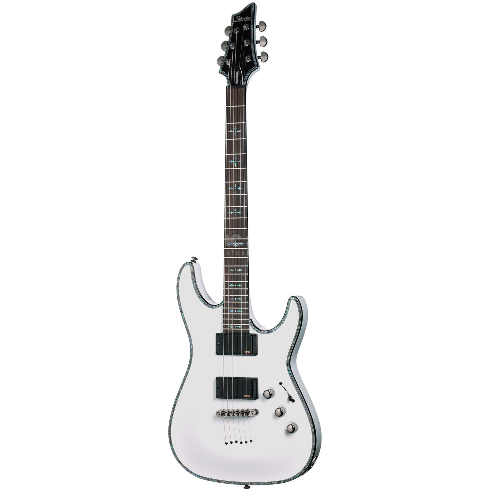 Schecter Hellraiser C-1 WH Gloss White Product Image